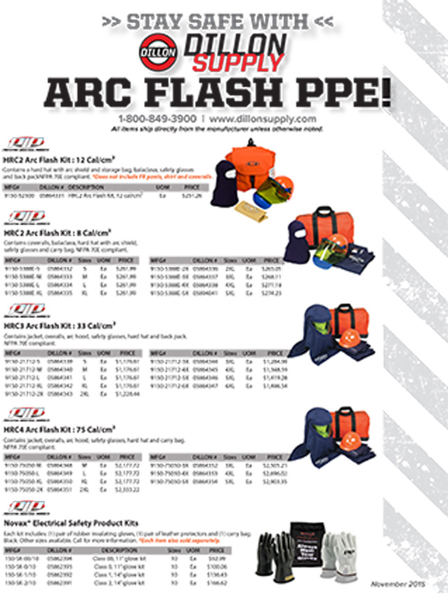 ARC Flash PPE