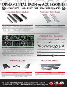 Indital Ornamental Iron Guide