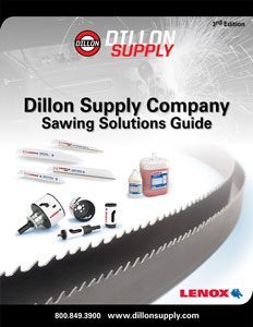 Lenox Sawing Solutions Guide