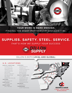 Line Card - One Page Info about Dillon Supply