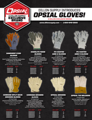 Opsial Gloves
