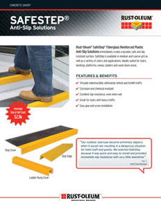 Rustoleum Anti-slip Solutions Flyer