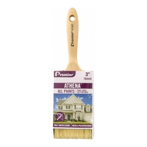 """Athena® 3"""" Deluxe Polyester & China Blend Flat Paint Brush"""