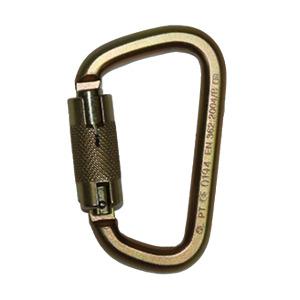 Safewaze FS1015 Locking Steel Carabiner