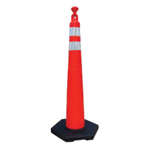 "Viz-Con 42133-CRU-16HIP 42"" Traffix Grabber Cone® with 16# Base"