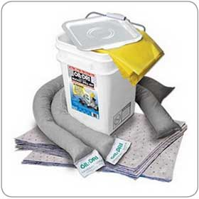 Oil-Dri® L90435 5 Gallon Universal Spill Kit
