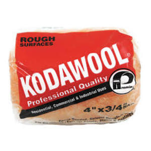 """Kodawool® 4"""" Proffessional Quality Roller Cover 3/4"""" Nap"""
