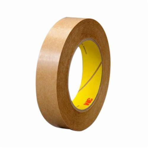 3M™ 021200-03231 Fibered General Purpose High Tack Adhesive Transfer Tape, 600 yd L x 1/2 in W, 2 mil THK, 2 mil 400 Acrylic Adhesive, Clear