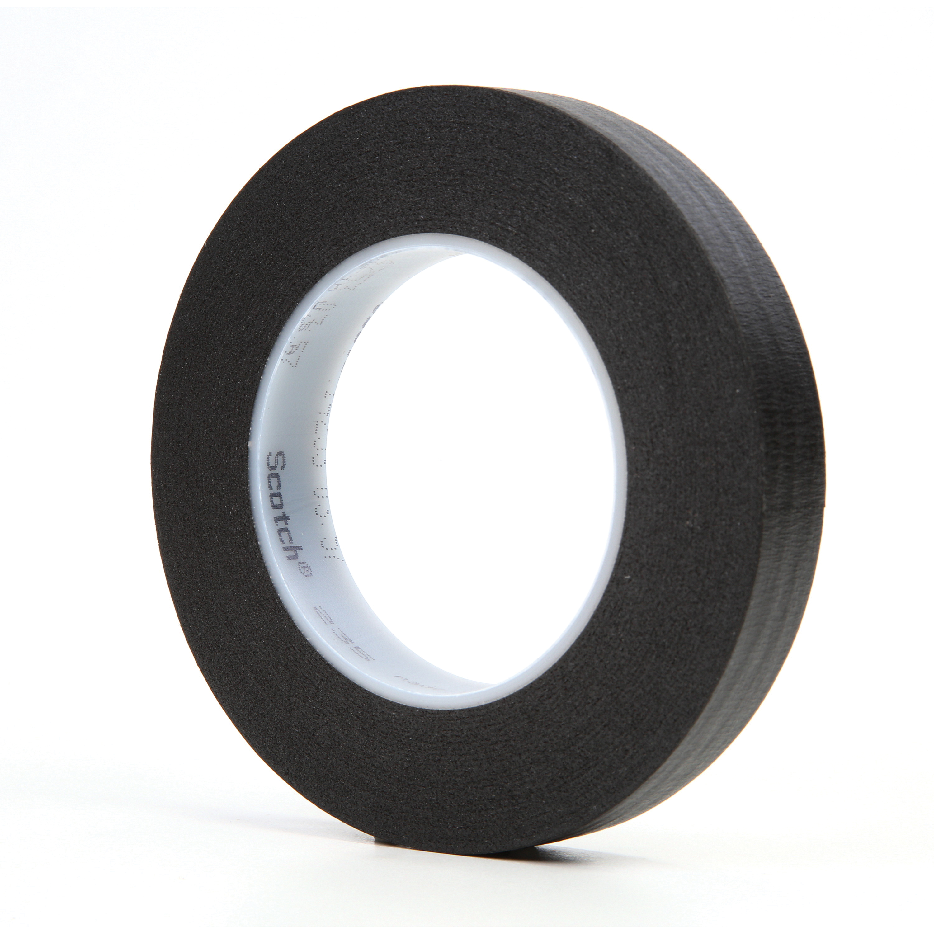3M™ 021200-02839 Photographic Tape, 60 yd L x 3/4 in W, 7 mil THK, Rubber Adhesive, Crepe Paper Backing, Black