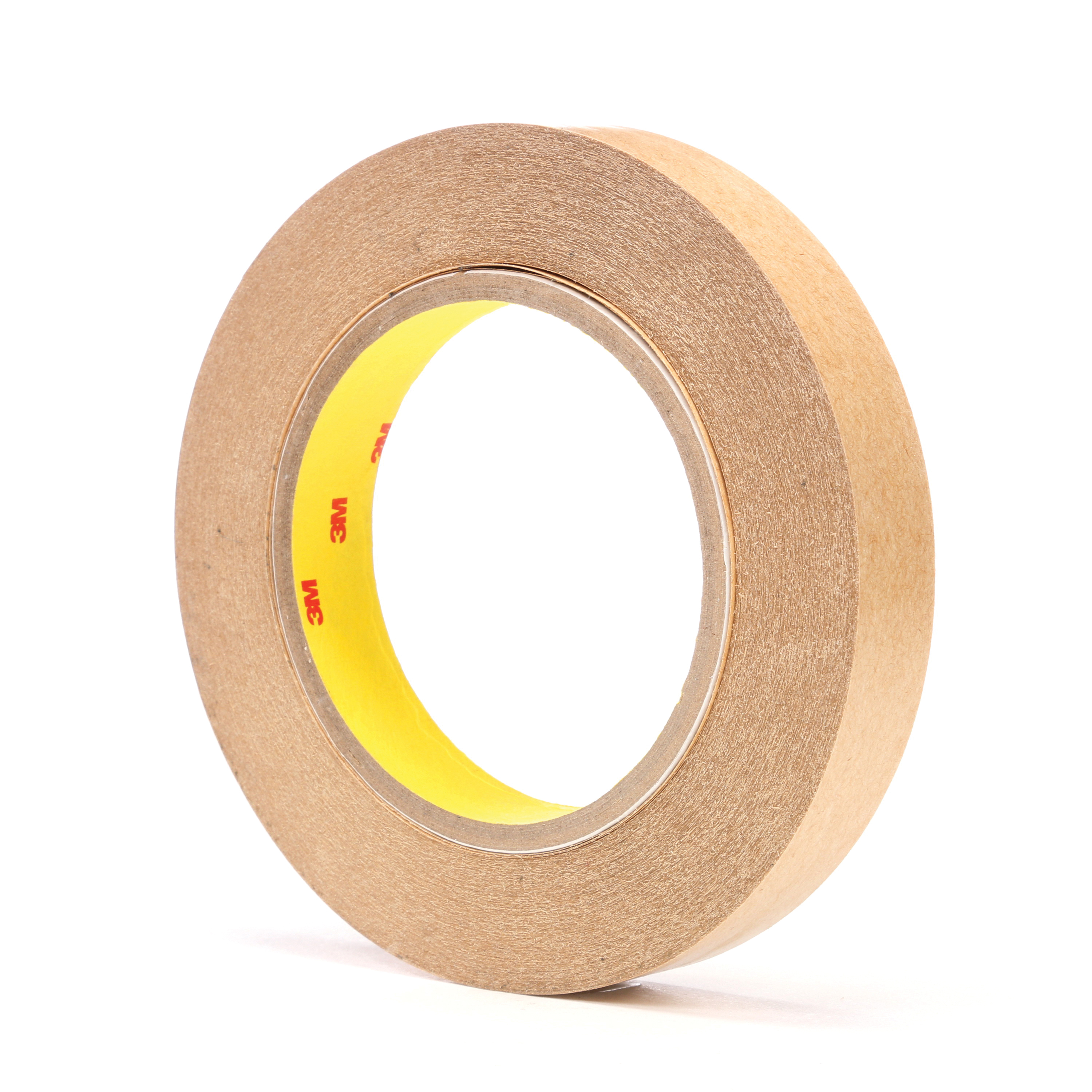 3M™ 021200-03228 Fibered General Purpose High Tack Adhesive Transfer Tape, 60 yd L x 3/4 in W, 2 mil THK, 2 mil 400 Acrylic Adhesive, Clear