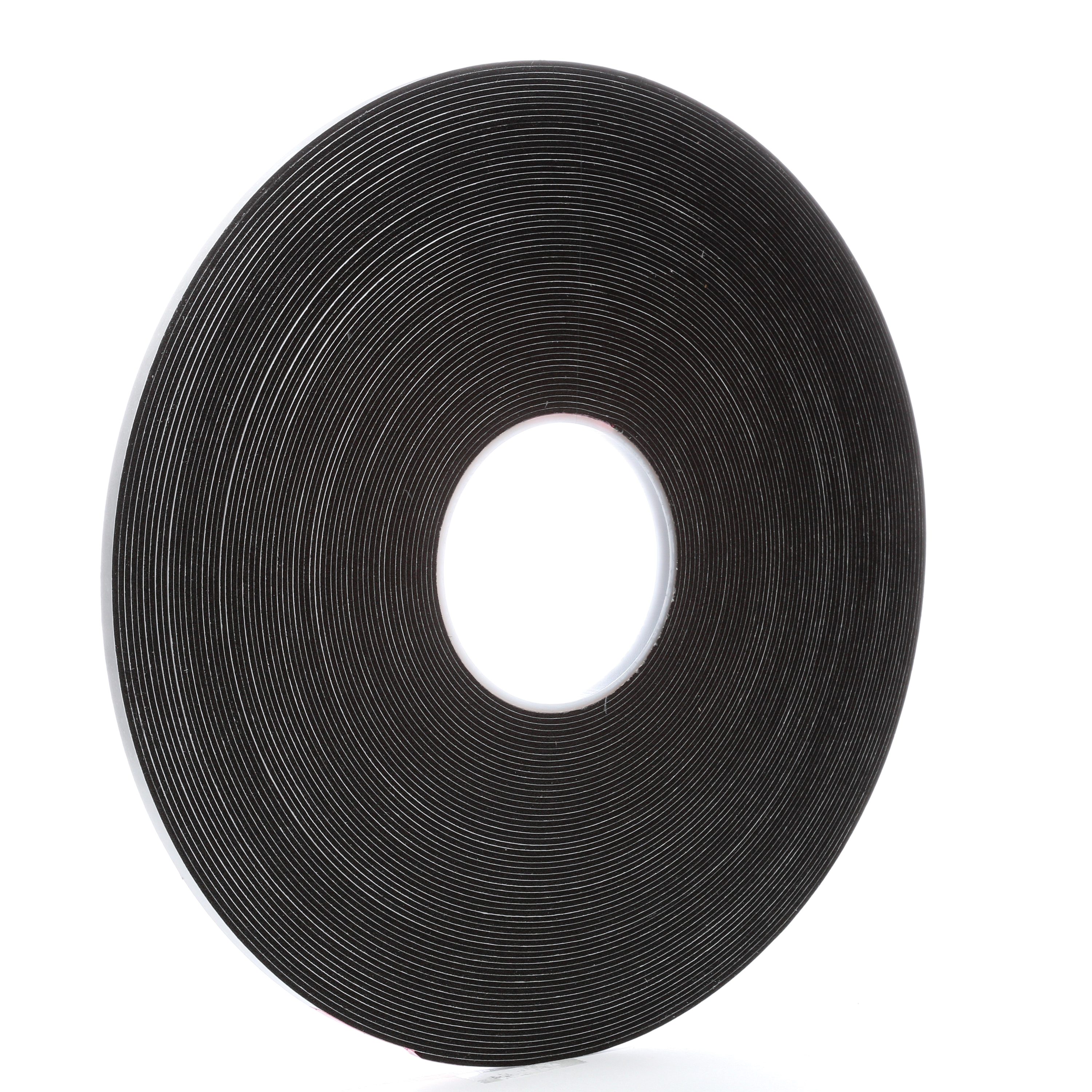 3M™ 021200-03305 Single Coated Foam Tape, 36 yd L x 1/4 in W, 62 mil THK, Acrylic Adhesive, Vinyl Foam Backing, Black