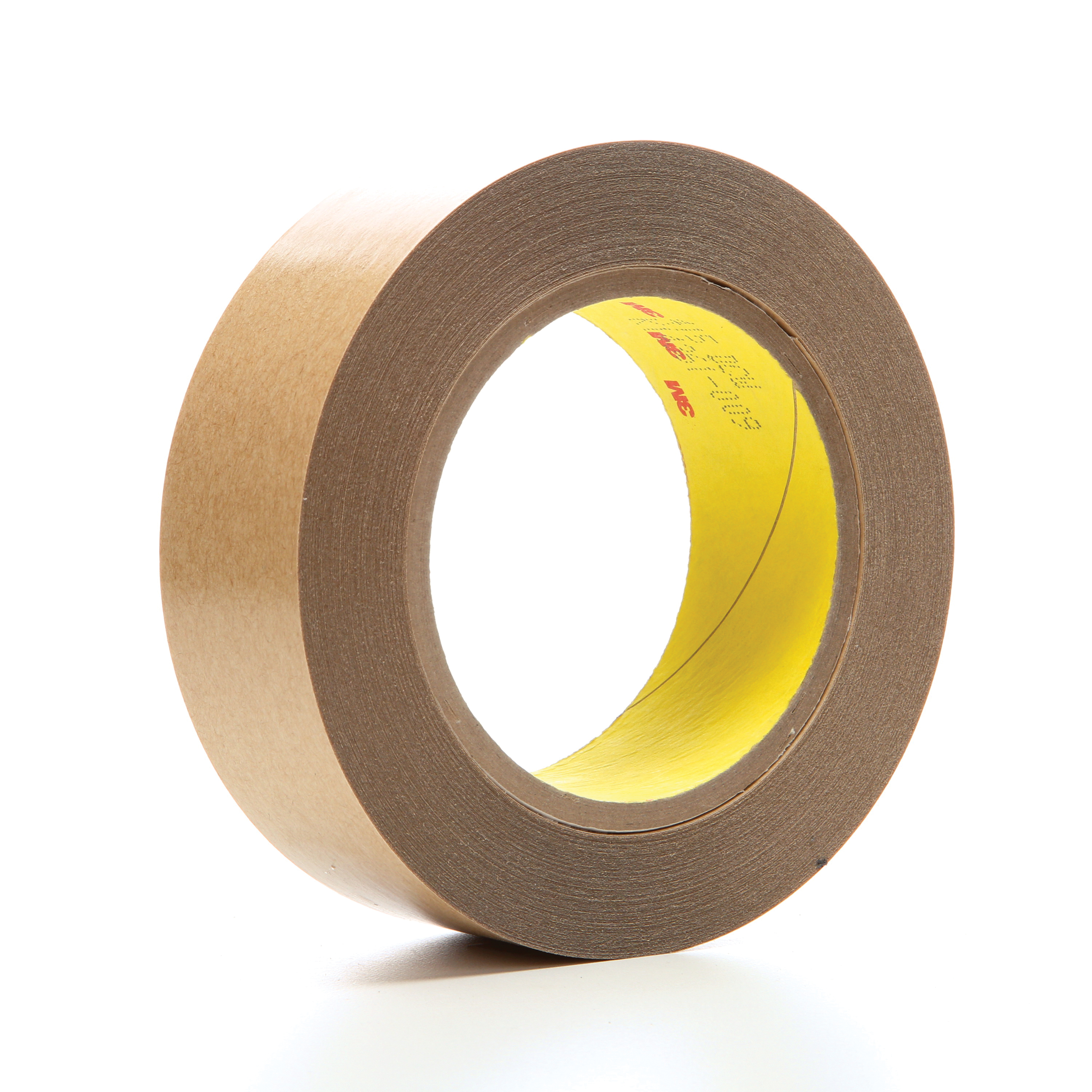 3M™ 021200-03324 Non-Repulpable Double Coated Splicing Tape, 36 yd L x 1-1/2 in W, 4 mil THK, 400HT Acrylic Adhesive, Polyester Film Backing, Clear