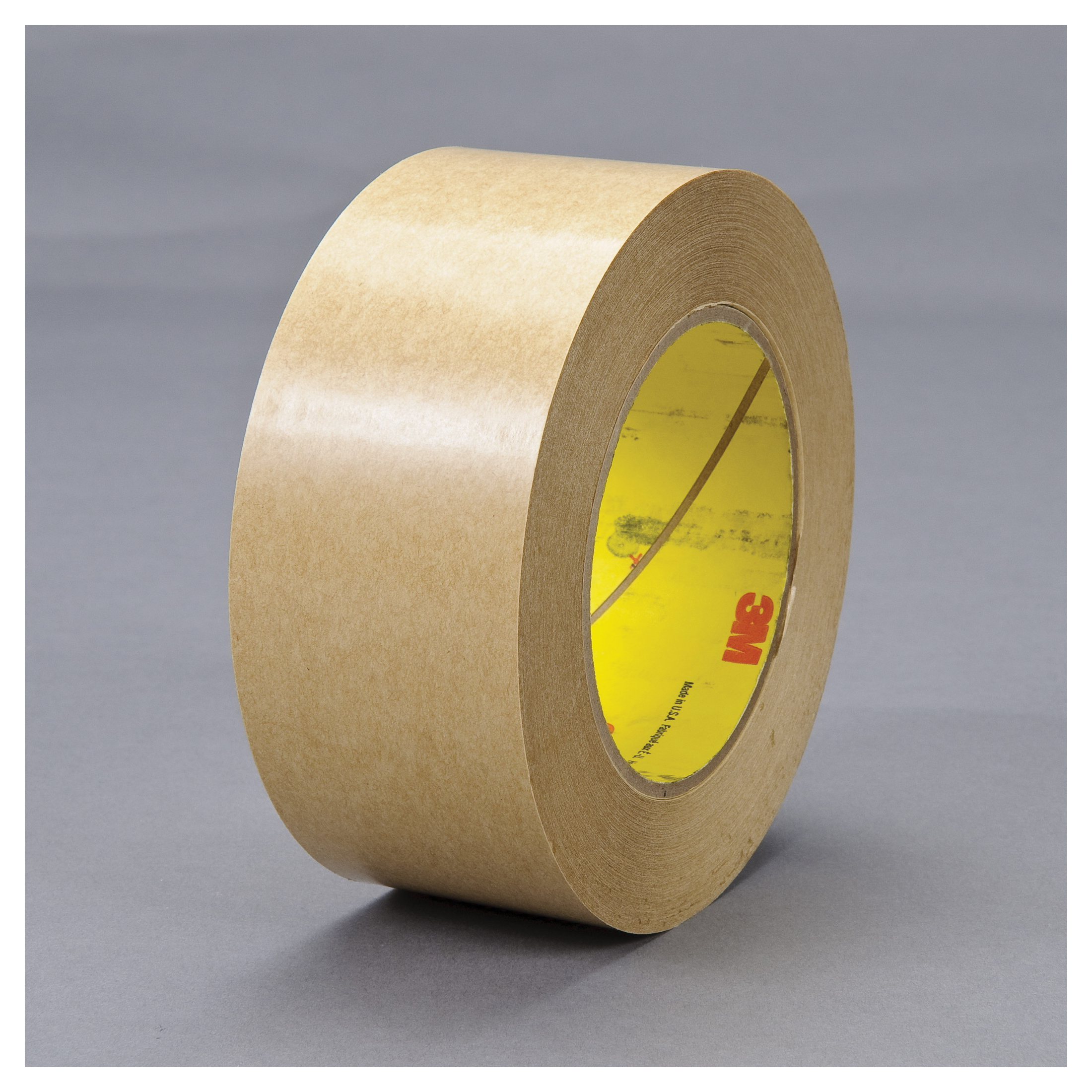 3M™ 021200-04300 Fibered General Purpose Adhesive Transfer Tape, 60 yd L x 2-1/2 in W, 2 mil THK, 2 mil 400 Acrylic Adhesive, Clear
