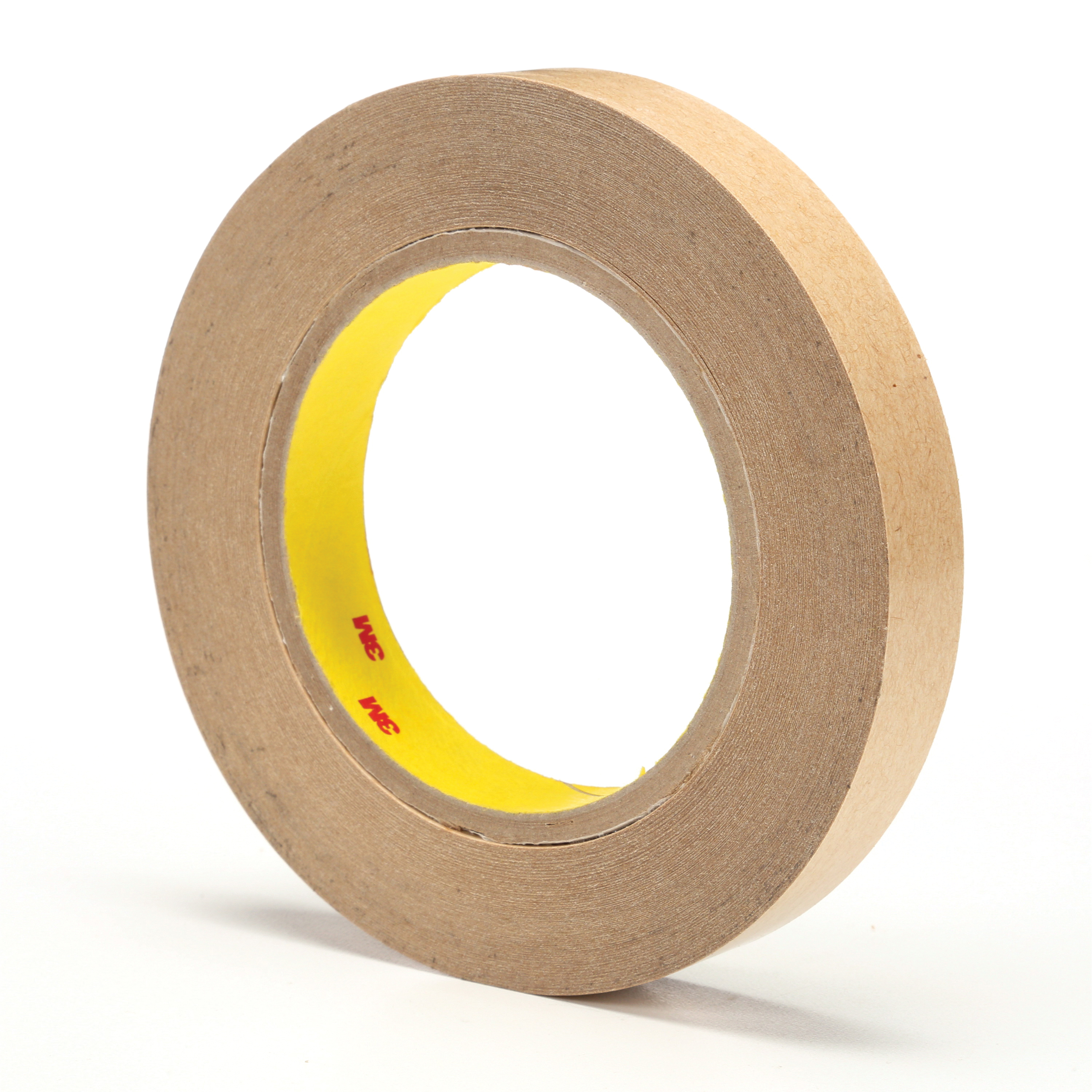 3M™ 021200-03336 465 Fibered General Purpose Adhesive Transfer Tape, 60 yd L x 3/4 in W, 2 mil THK, 2 mil 400 Acrylic Adhesive, Clear