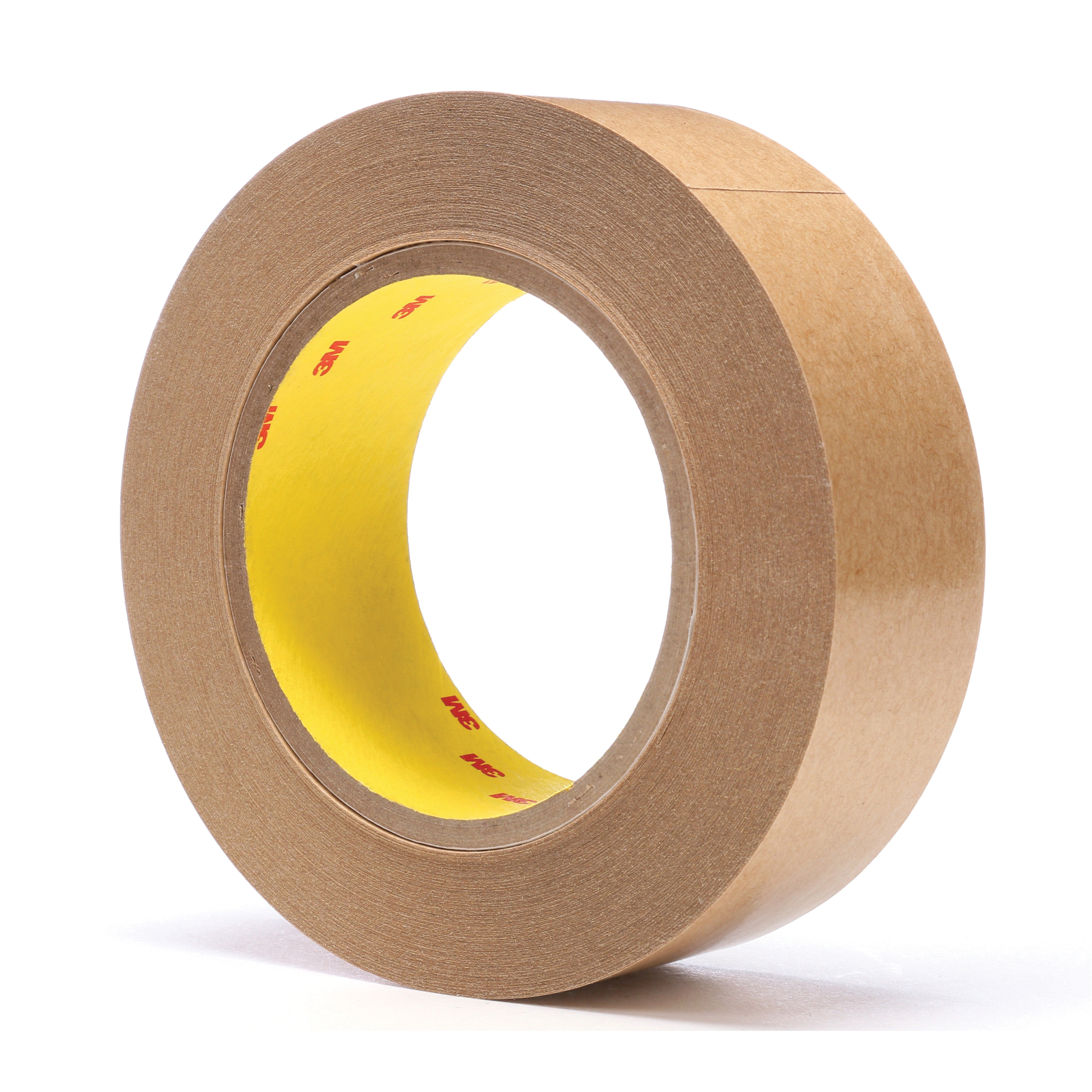 3M™ 021200-03338 Fibered General Purpose Adhesive Transfer Tape, 60 yd L x 1-1/2 in W, 2 mil THK, 2 mil 400 Acrylic Adhesive, Clear
