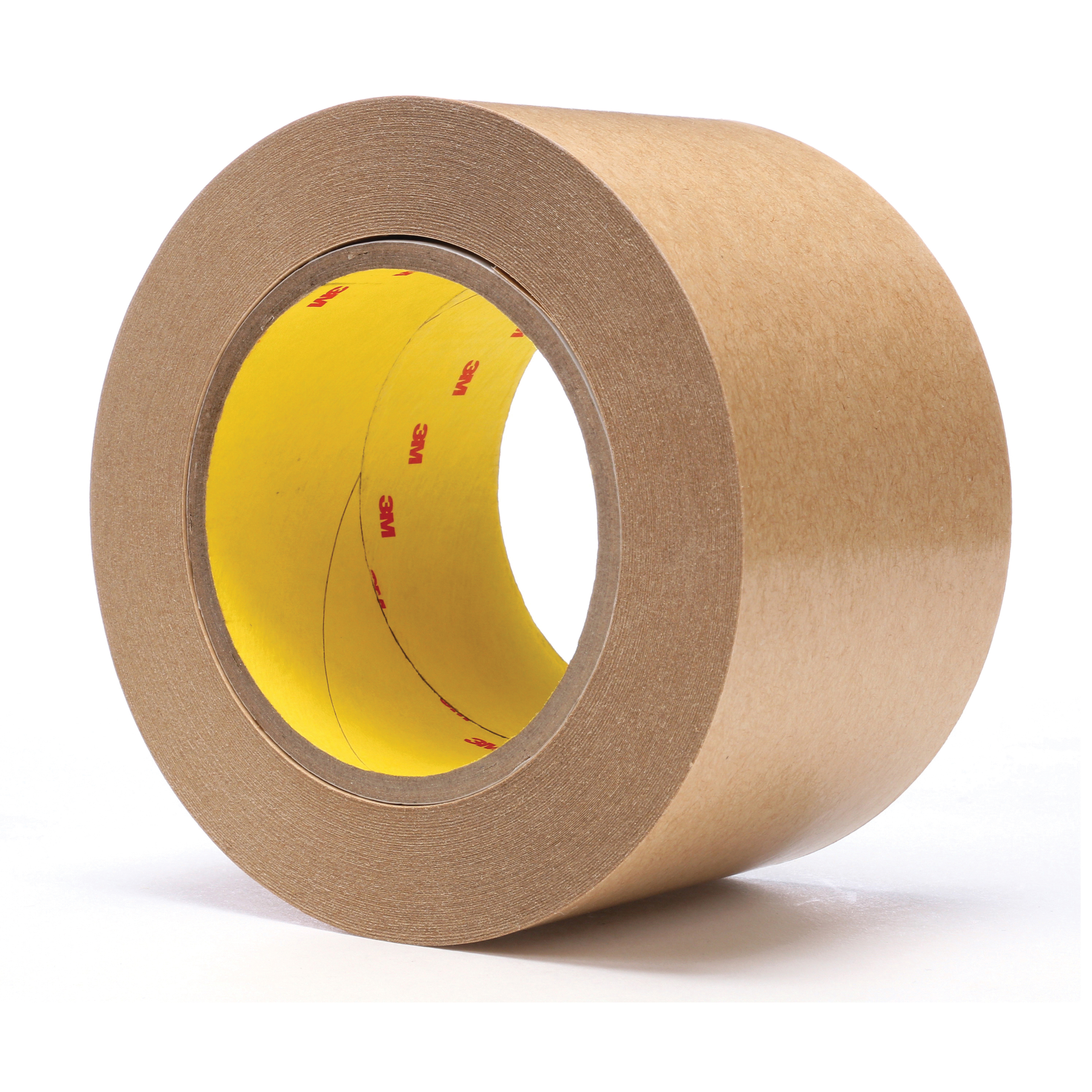 3M™ 021200-03339 Fibered General Purpose Adhesive Transfer Tape, 60 yd L x 3 in W, 2 mil THK, 2 mil 400 Acrylic Adhesive, Clear