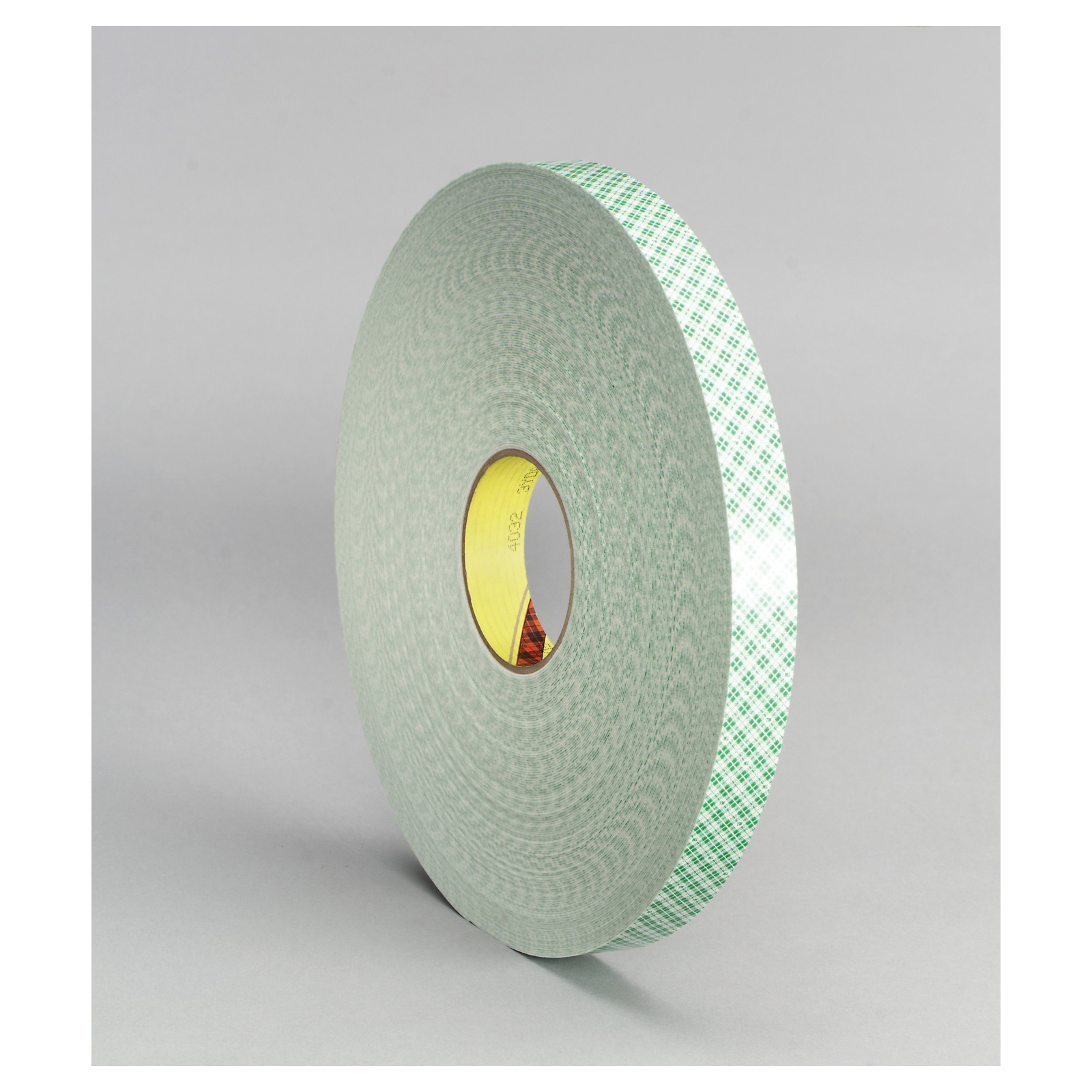 3M™ 021200-03357 Double Coated Tape, 72 yd L x 1/4 in W, 31 mil THK, Acrylic Adhesive, Urethane Foam Backing, Off-White