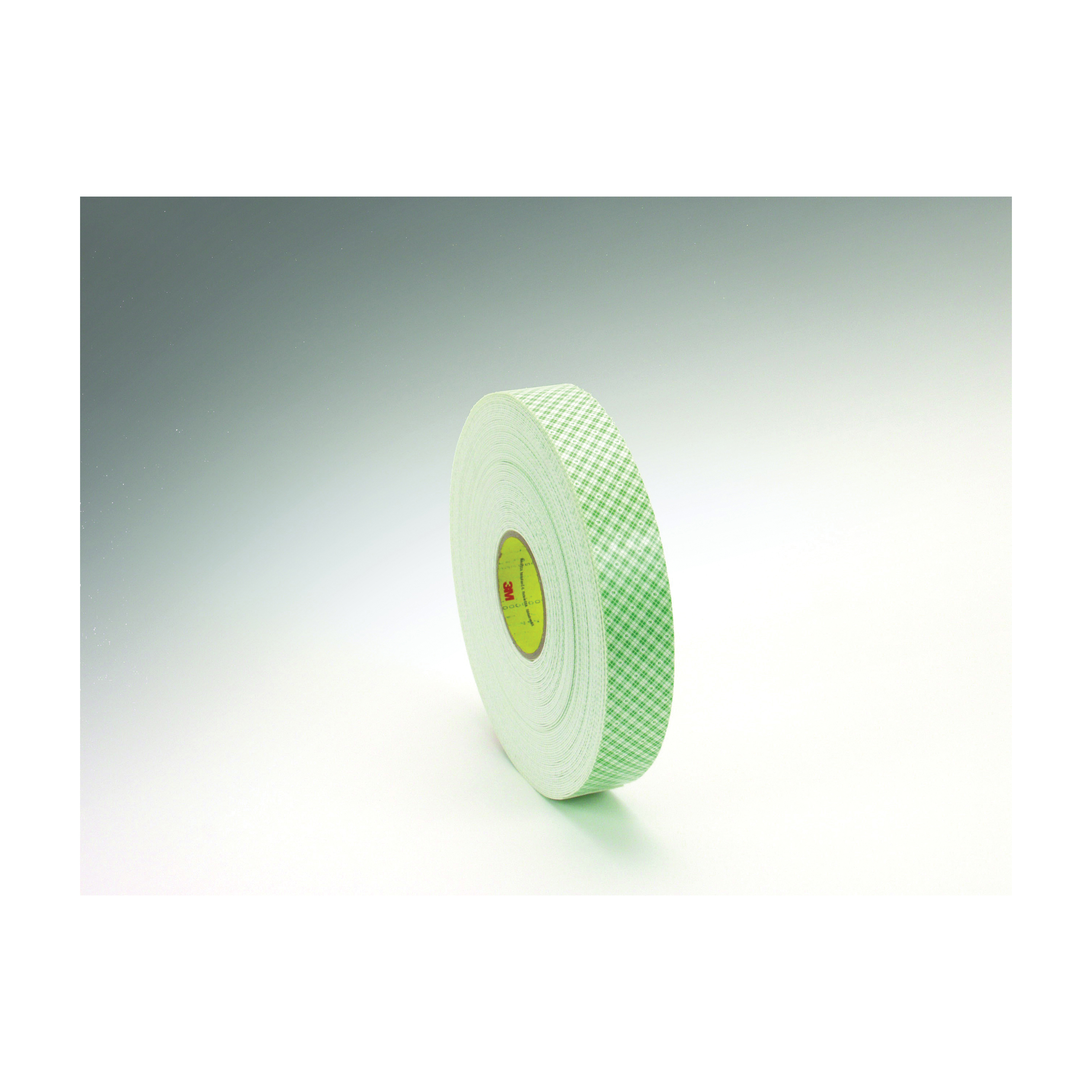3M™ 021200-03371 Double Coated Tape, 36 yd L x 1/4 in W, 62 mil THK, Acrylic Adhesive, Urethane Foam Backing, Off-White