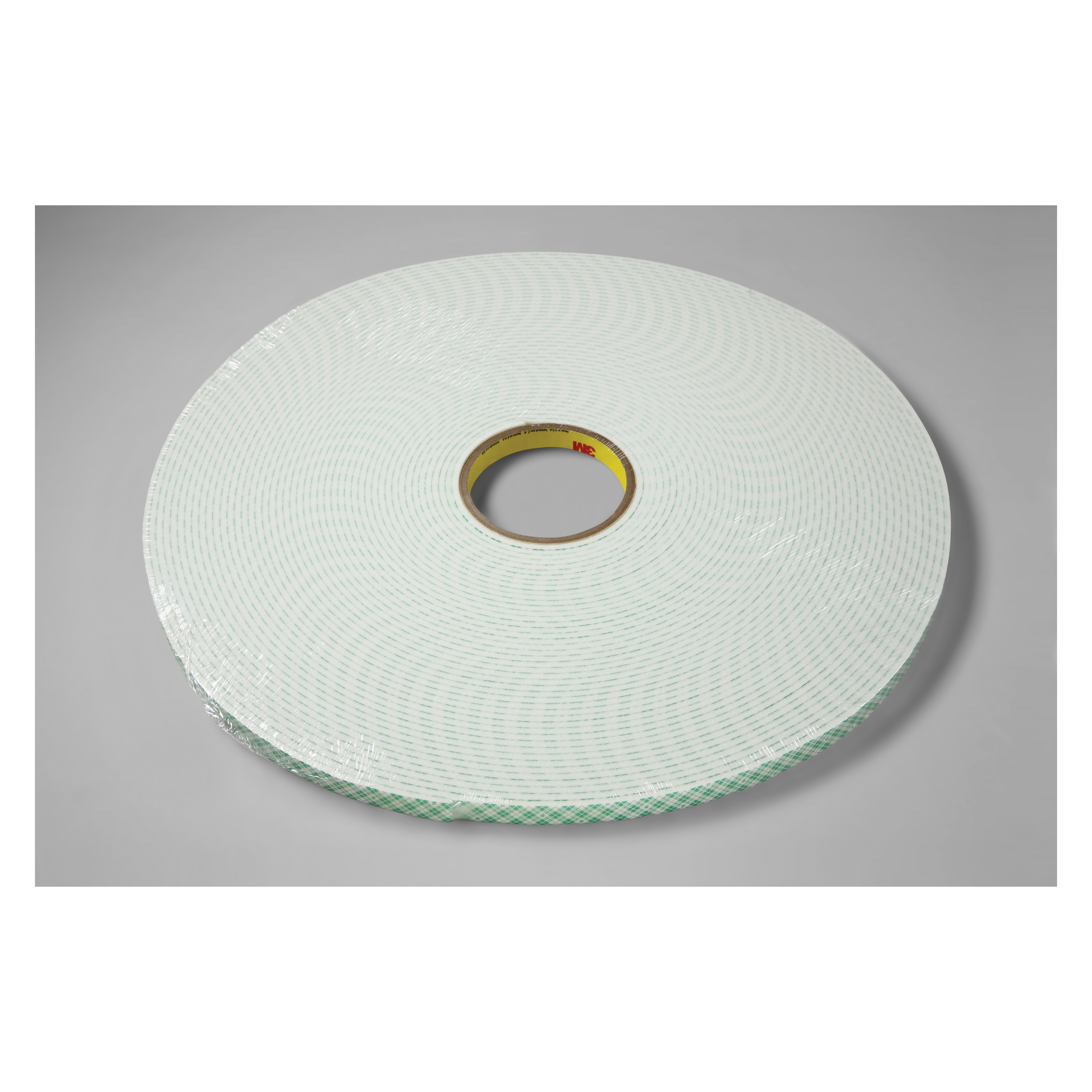 3M™ 021200-03382 Double Coated Tape, 36 yd L x 1/4 in W, 125 mil THK, Acrylic Adhesive, Urethane Foam Backing, Off-White