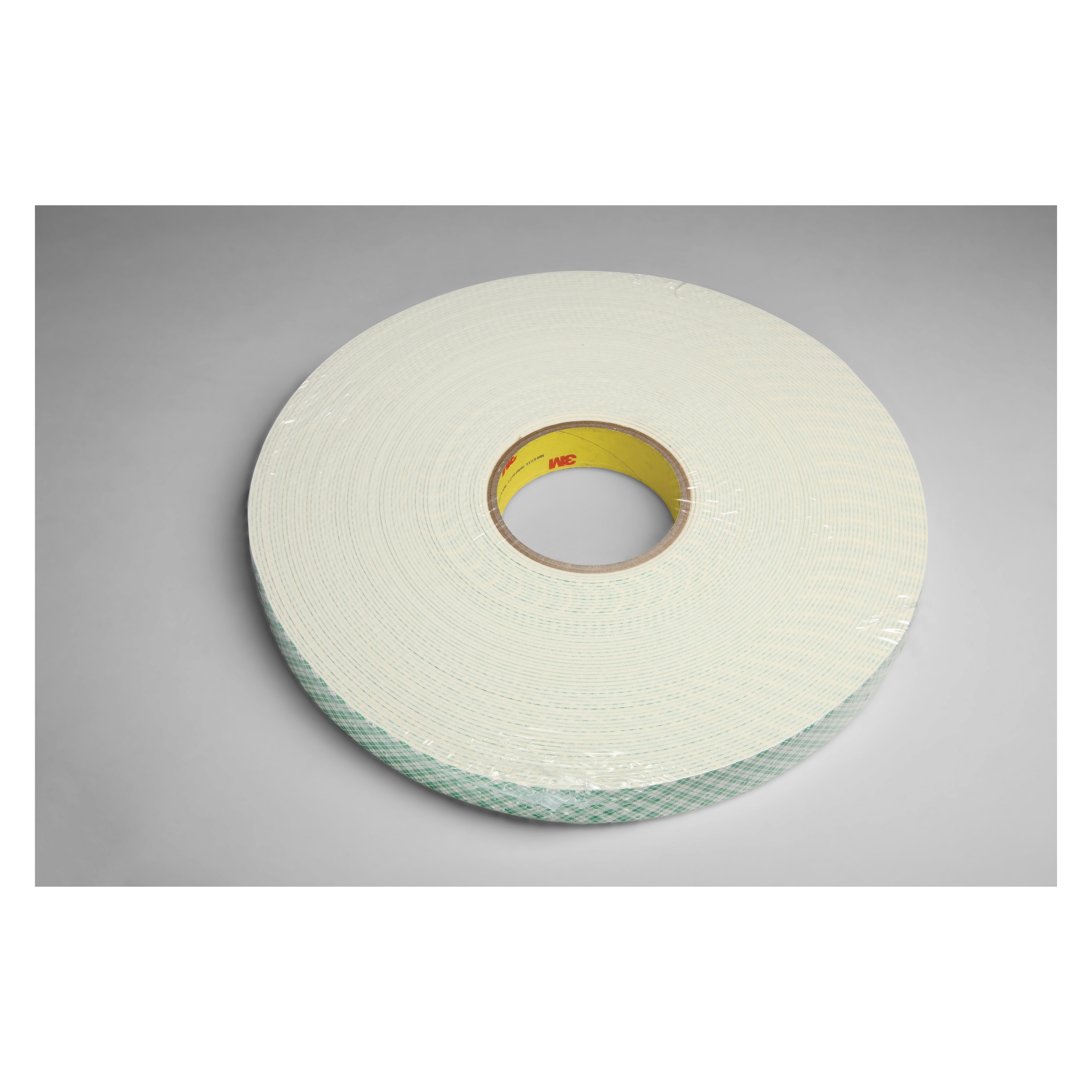 3M™ 021200-03398 Single Coated Foam Tape, 36 yd L x 1/4 in W, 62 mil THK, Acrylic Adhesive, Urethane Foam Backing, Natural