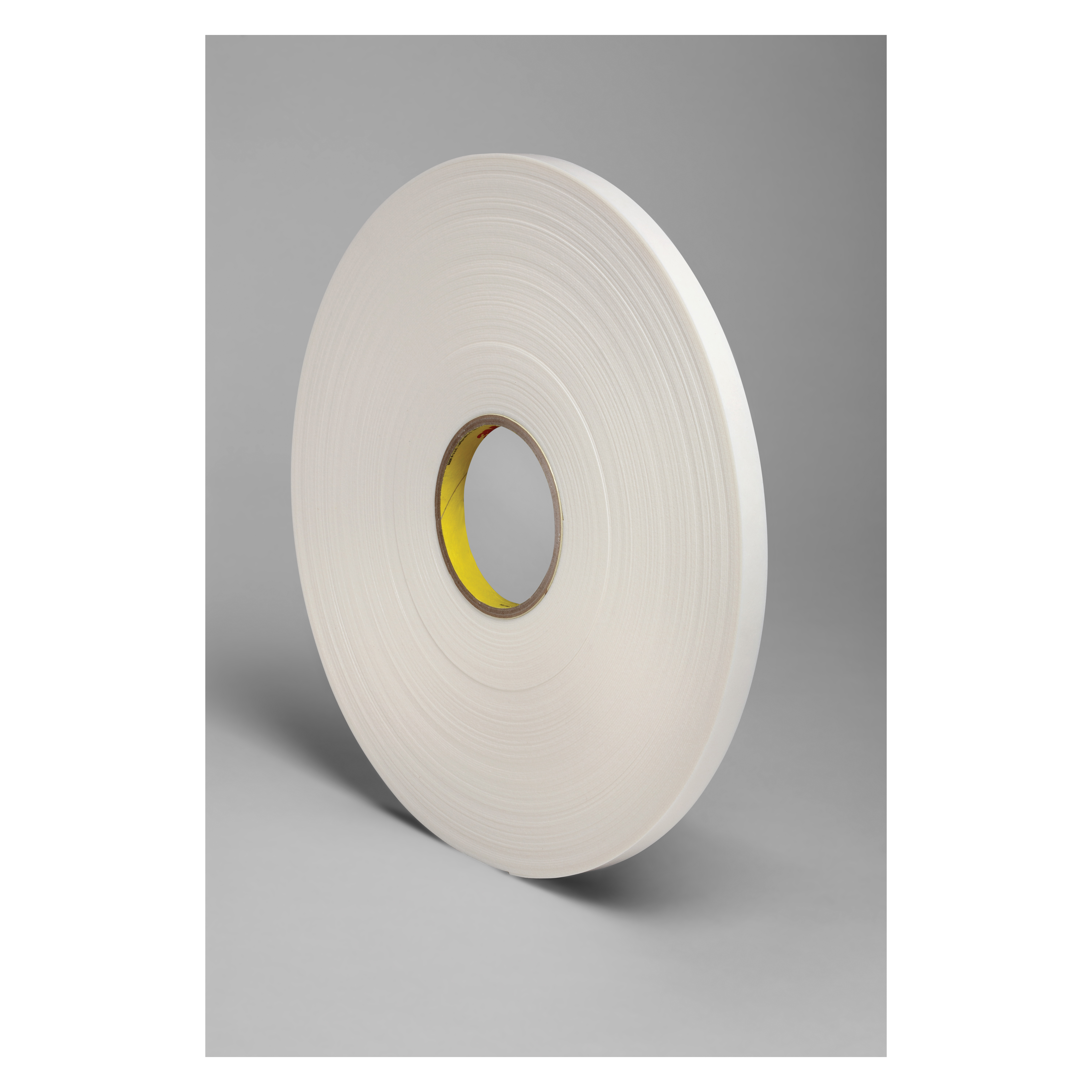 3M™ 021200-03406 Single Coated Foam Tape, 36 yd L x 1/2 in W, 125 mil THK, Acrylic Adhesive, Urethane Foam Backing, Natural