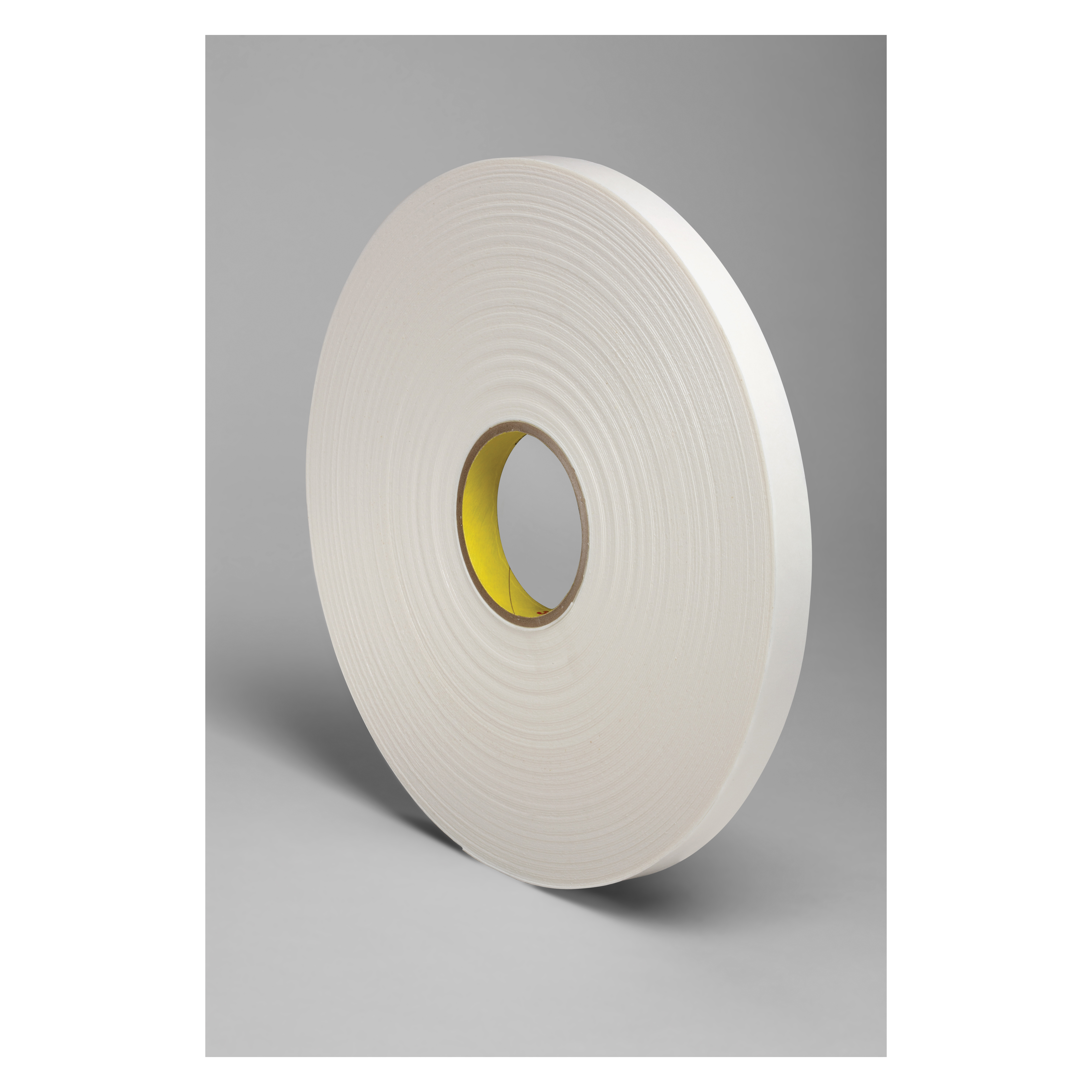 3M™ 021200-03413 Single Coated Foam Tape, 18 yd L x 3/4 in W, 250 mil THK, Acrylic Adhesive, Urethane Foam Backing, Natural