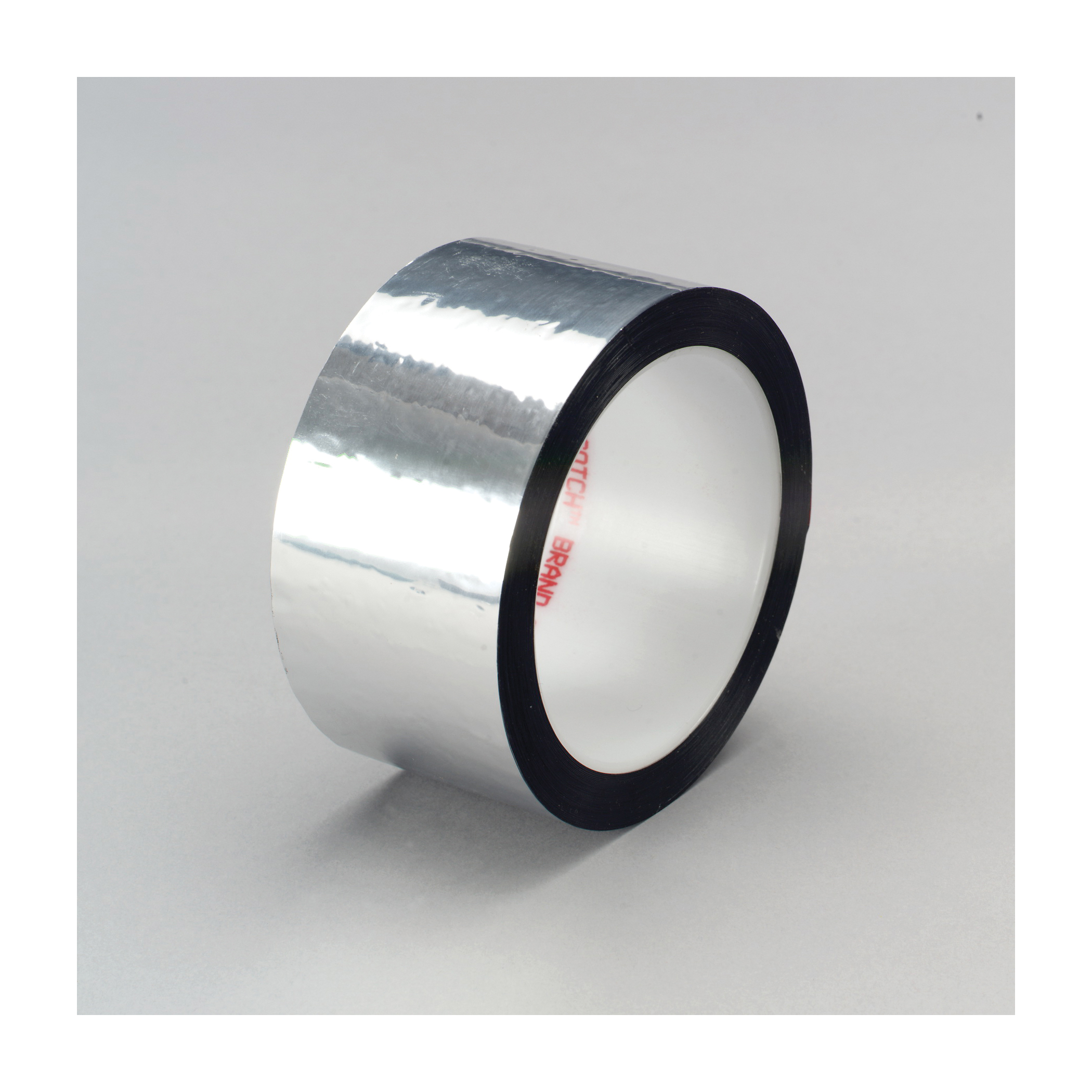 3M™ 021200-04147 Film Tape, 72 yd L x 3/8 in W, 1.9 mil THK, Acrylic Adhesive, Polyester Backing, Silver
