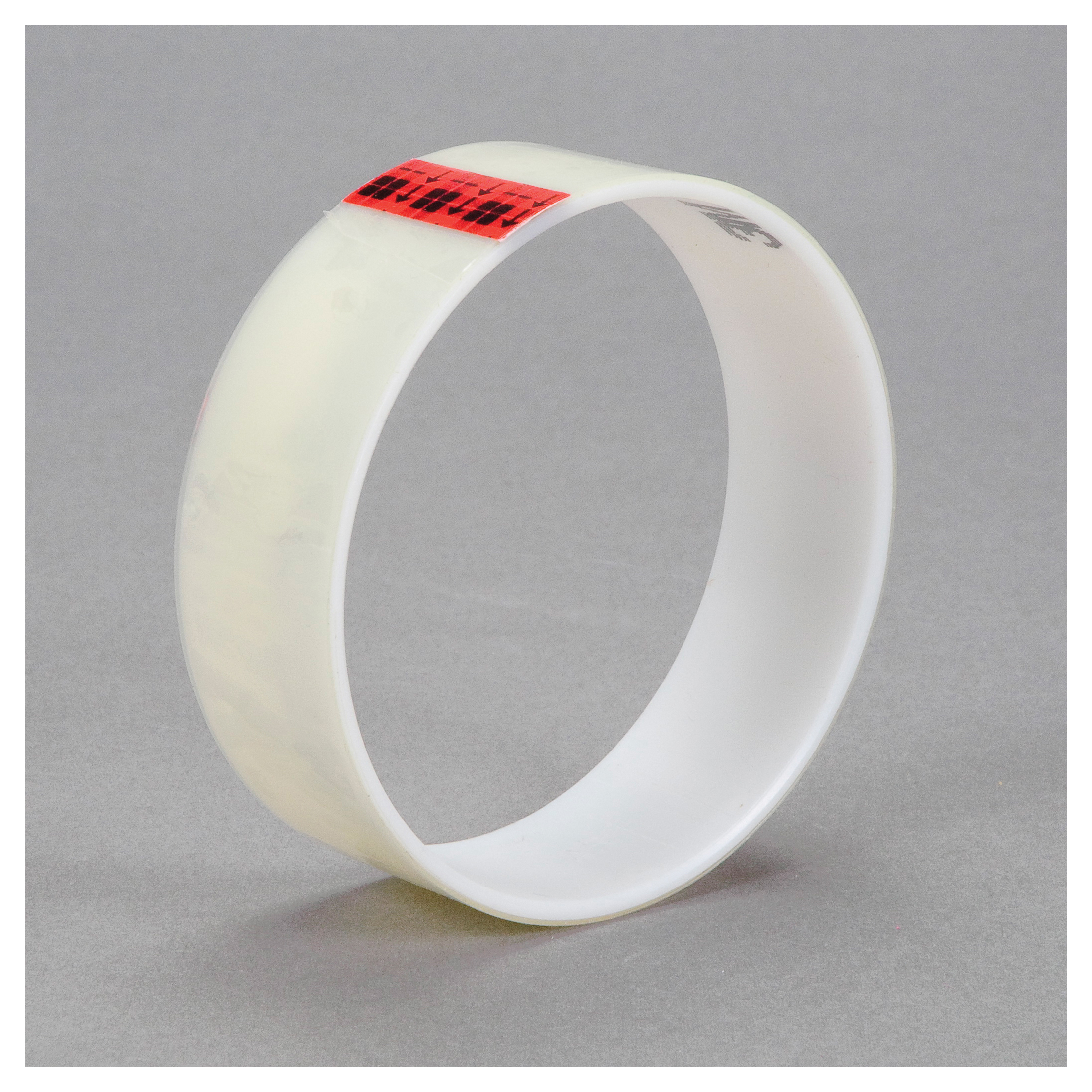 3M™ 021200-03589 Film Tape, 72 yd L x 1-1/2 in W, 2.2 mil THK, Acrylic Adhesive, 0.9 mil Polyester Backing, Transparent