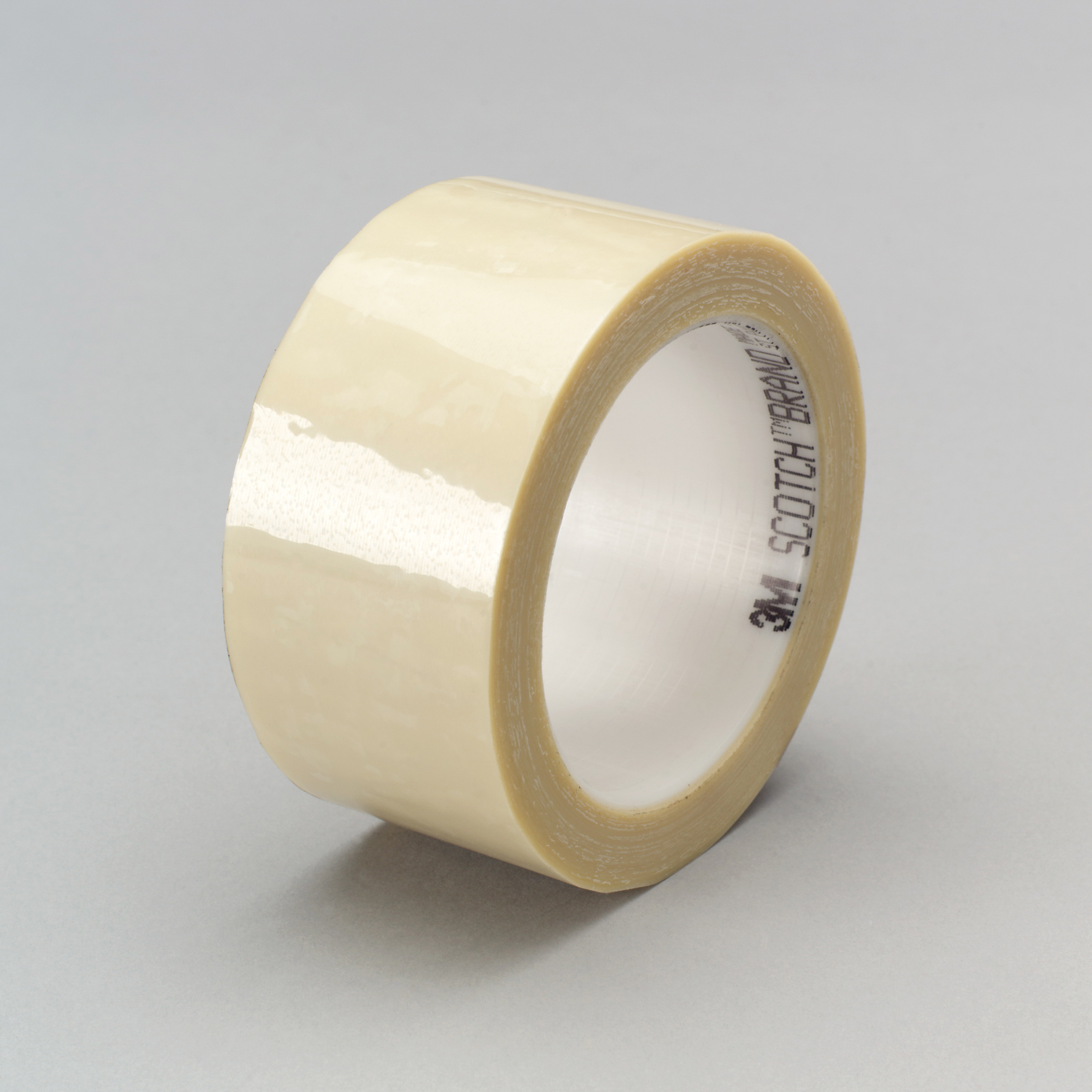 3M™ 021200-03787 Splicing Tape, 72 yd L x 1 in W, 1.9 mil THK, Rubber/Silicon Blend Adhesive, Polyester Backing, Translucent Cream
