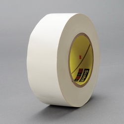3M™ 021200-03019 365 Cloth Tape, 60 yd L x 3/4 in W, 8.3 mil THK, Thermoset Rubber Resin Adhesive, Glass Cloth Backing, White