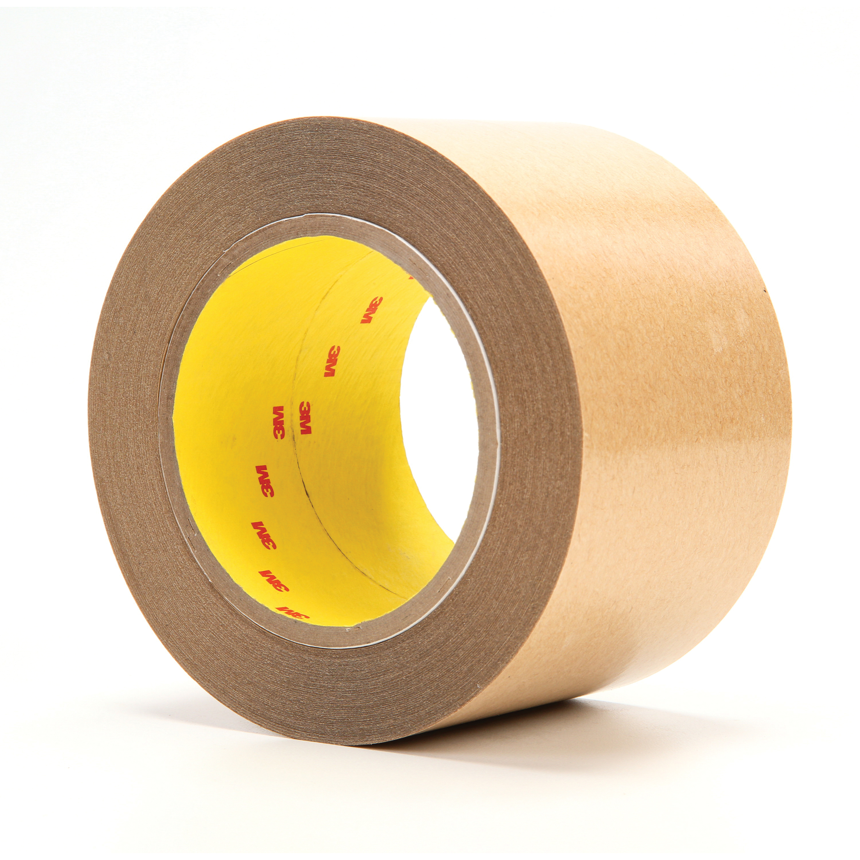 3M™ 021200-03910 415 Non-Repulpable Double Coated Splicing Tape, 36 yd L x 3 in W, 4 mil THK, 400HT Acrylic Adhesive, Polyester Film Backing, Clear