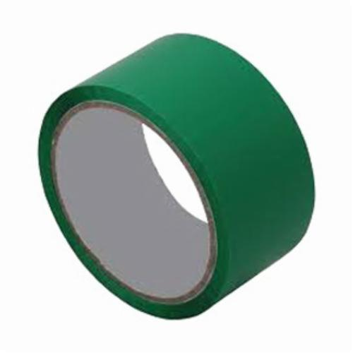 3M™ 021200-05247 Film Tape, 72 yd L x 3 in W, 4 mil THK, Rubber/Silicone Blend Adhesive, Polyester Backing, Green