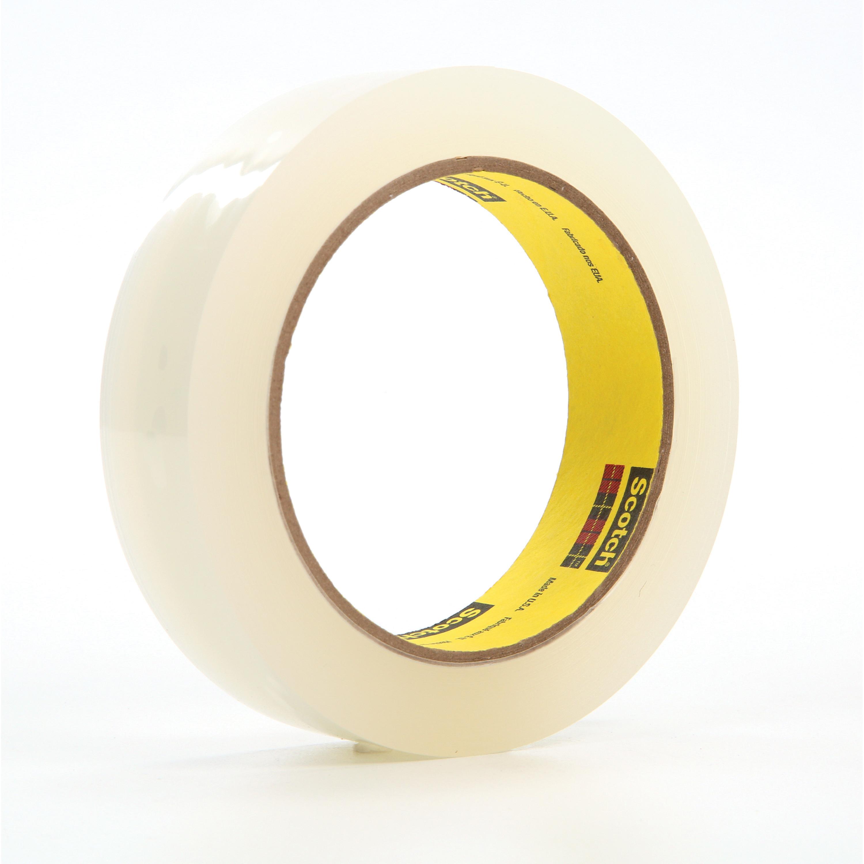 3M™ 021200-04145 Splicing Tape, 36 yd L x 1 in W, 5.1 mil THK, Acrylic Adhesive, Polyethylene Backing, Transparent