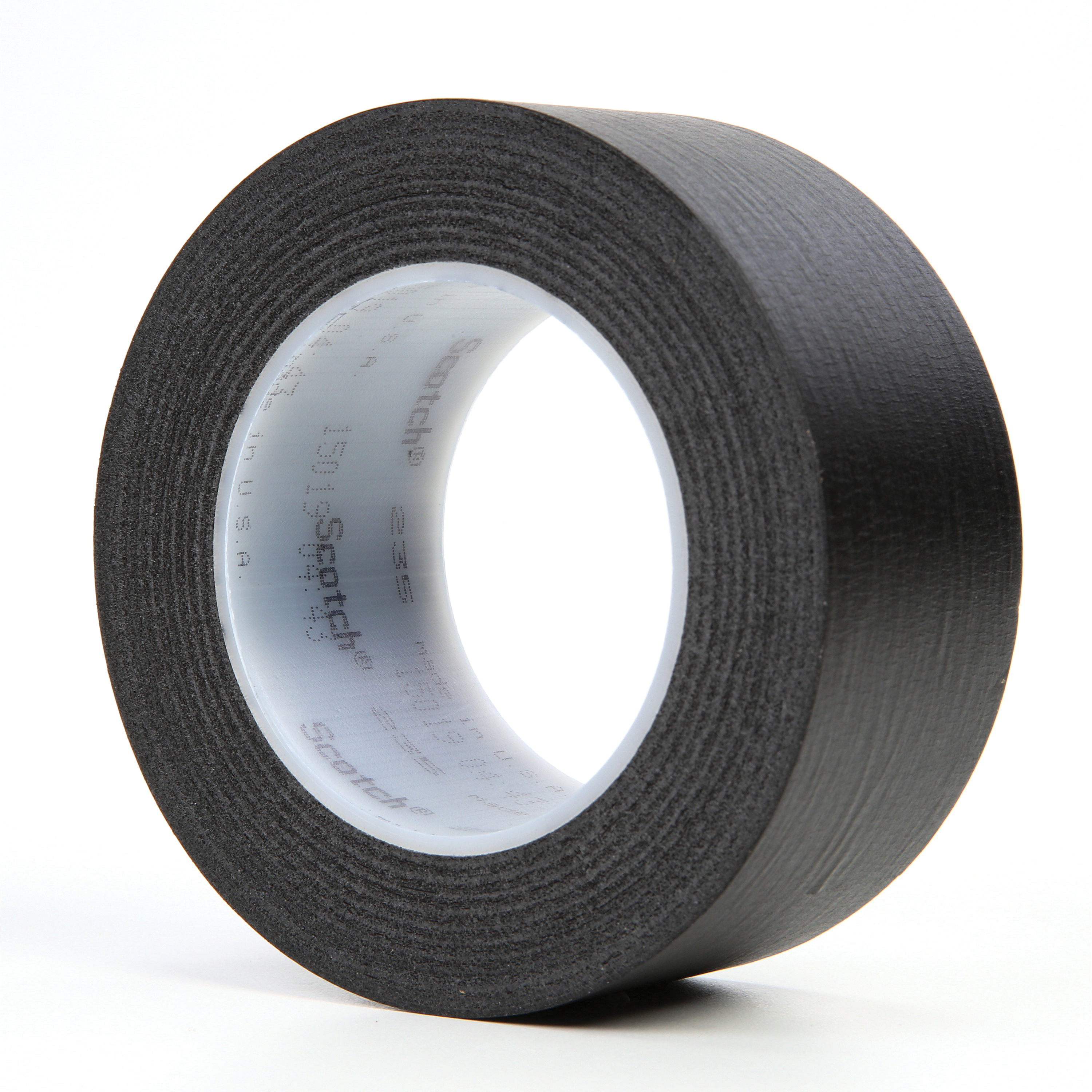 3M™ 021200-04246 Photographic Tape, 60 yd L x 2 in W, 7 mil THK, Rubber Adhesive, Crepe Paper Backing, Black