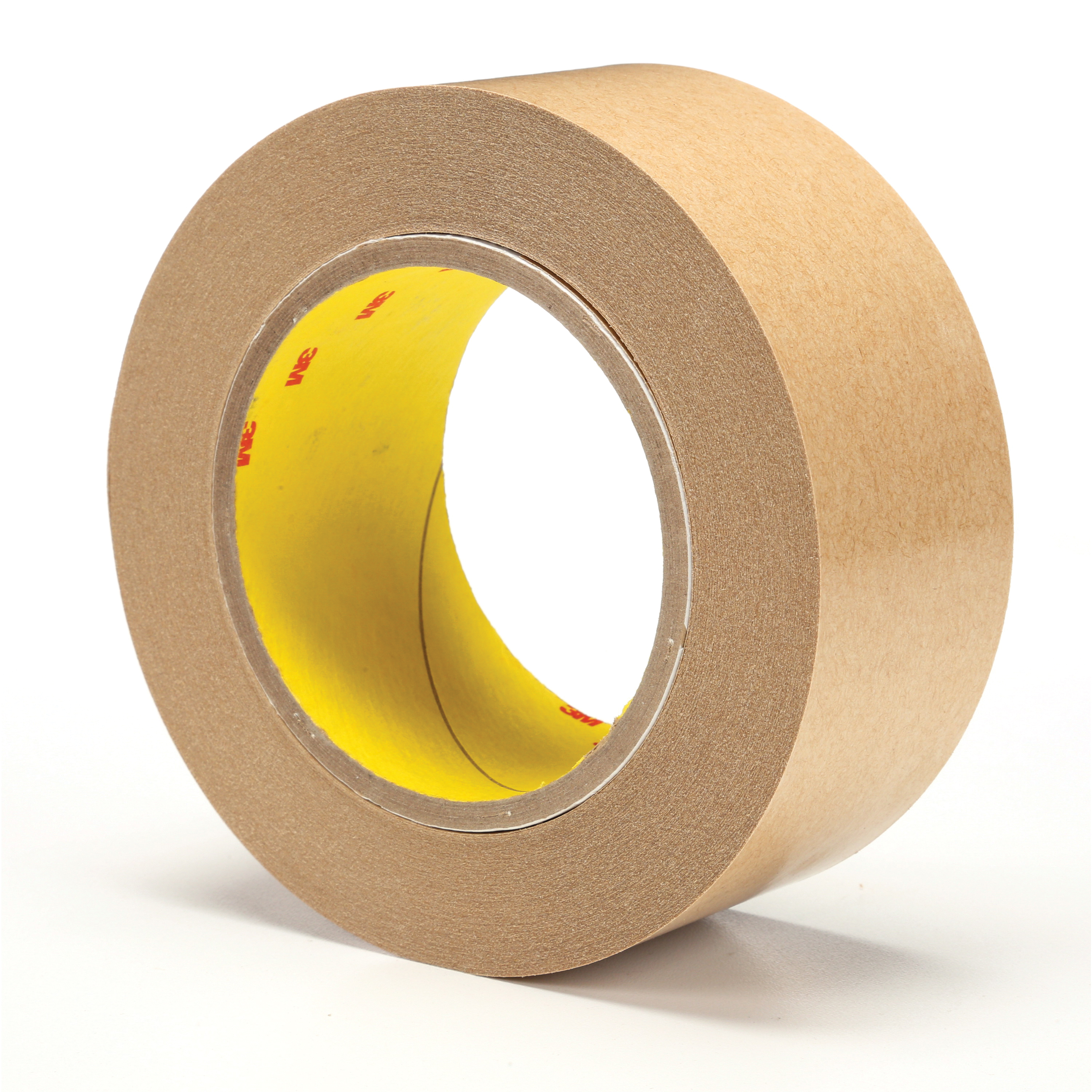 3M™ 021200-04299 Fibered General Purpose Adhesive Transfer Tape, 60 yd L x 2 in W, 2 mil THK, 2 mil 400 Acrylic Adhesive, Clear
