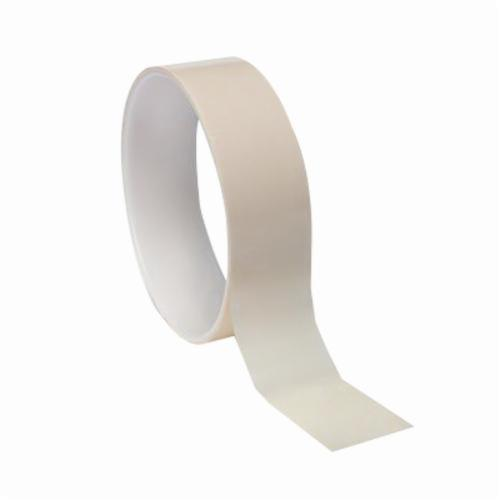 3M™ 021200-05756 Film Tape, 72 yd L x 1 in W, 2.7 mil THK, Rubber Adhesive, Polyester Backing, Cream