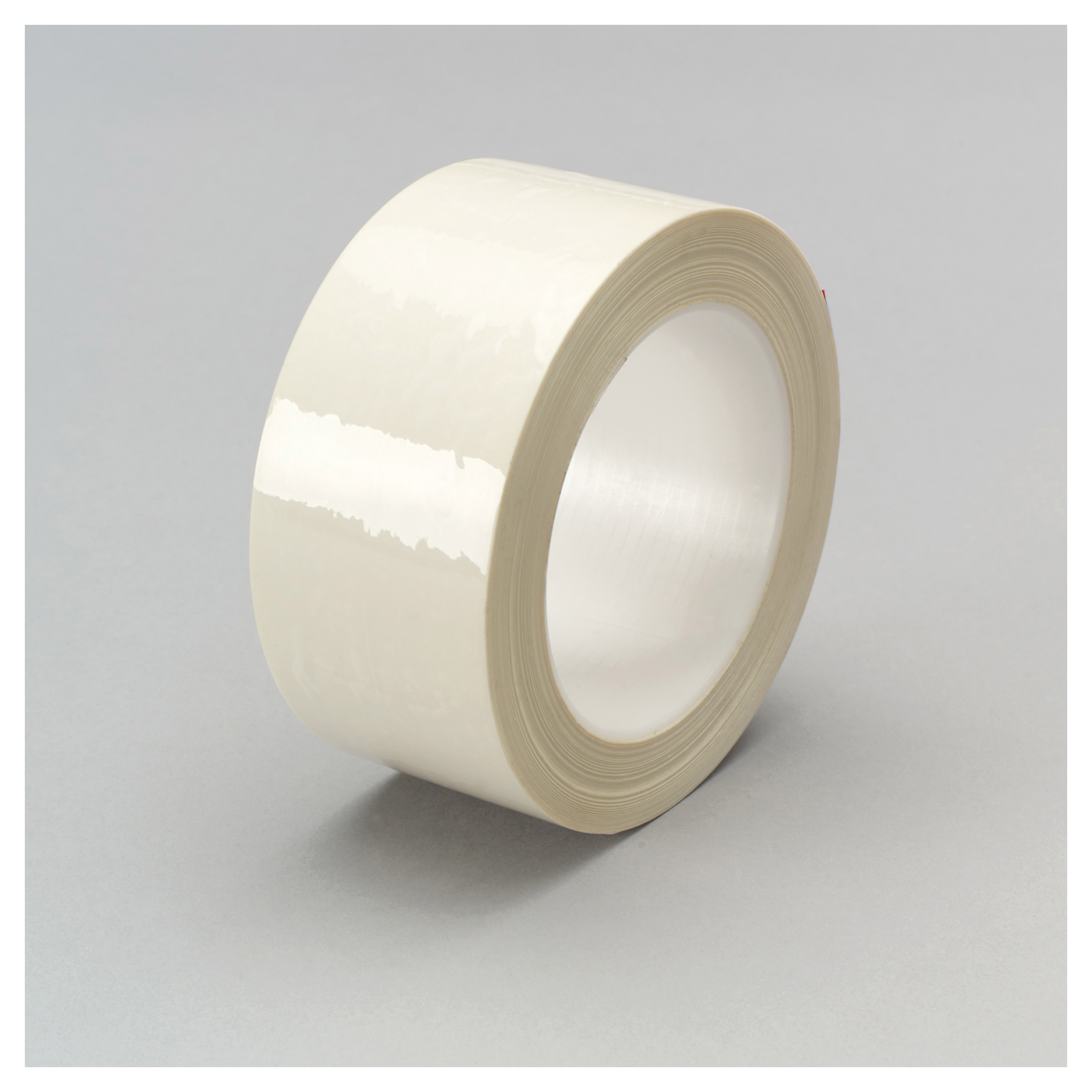 3M™ 021200-24331 High Temperature Film Tape, 72 yd L x 1 in W, 6 mil THK, Rubber Adhesive, Nylon Fiber Backing, White