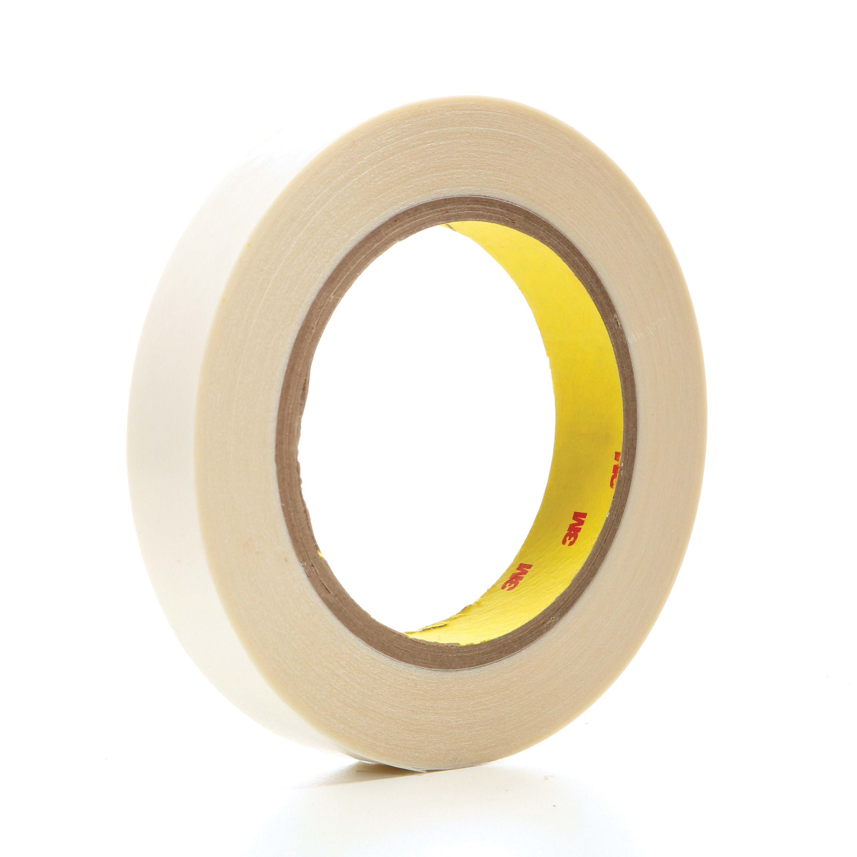 3M™ 021200-04721 Double Coated Film Tape, 36 yd L x 3/4 in W, 6.9 mil THK, Acrylic Adhesive, Polyester Film Backing, Clear