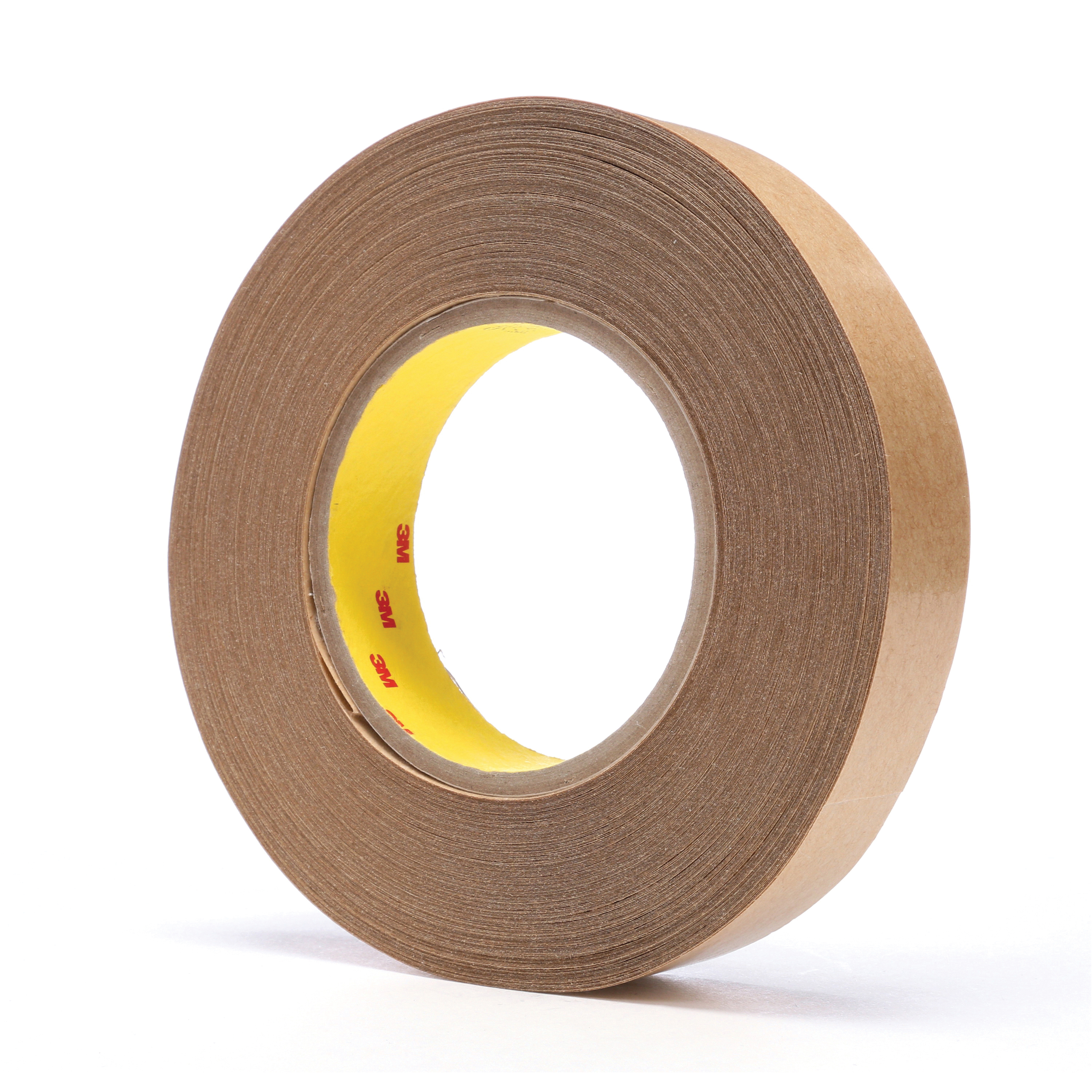 3M™ 021200-04850 General Purpose High Tack Adhesive Transfer Tape, 60 yd L x 1 in W, 8.5 mil THK, 5 mil 300 Acrylic Adhesive, Clear