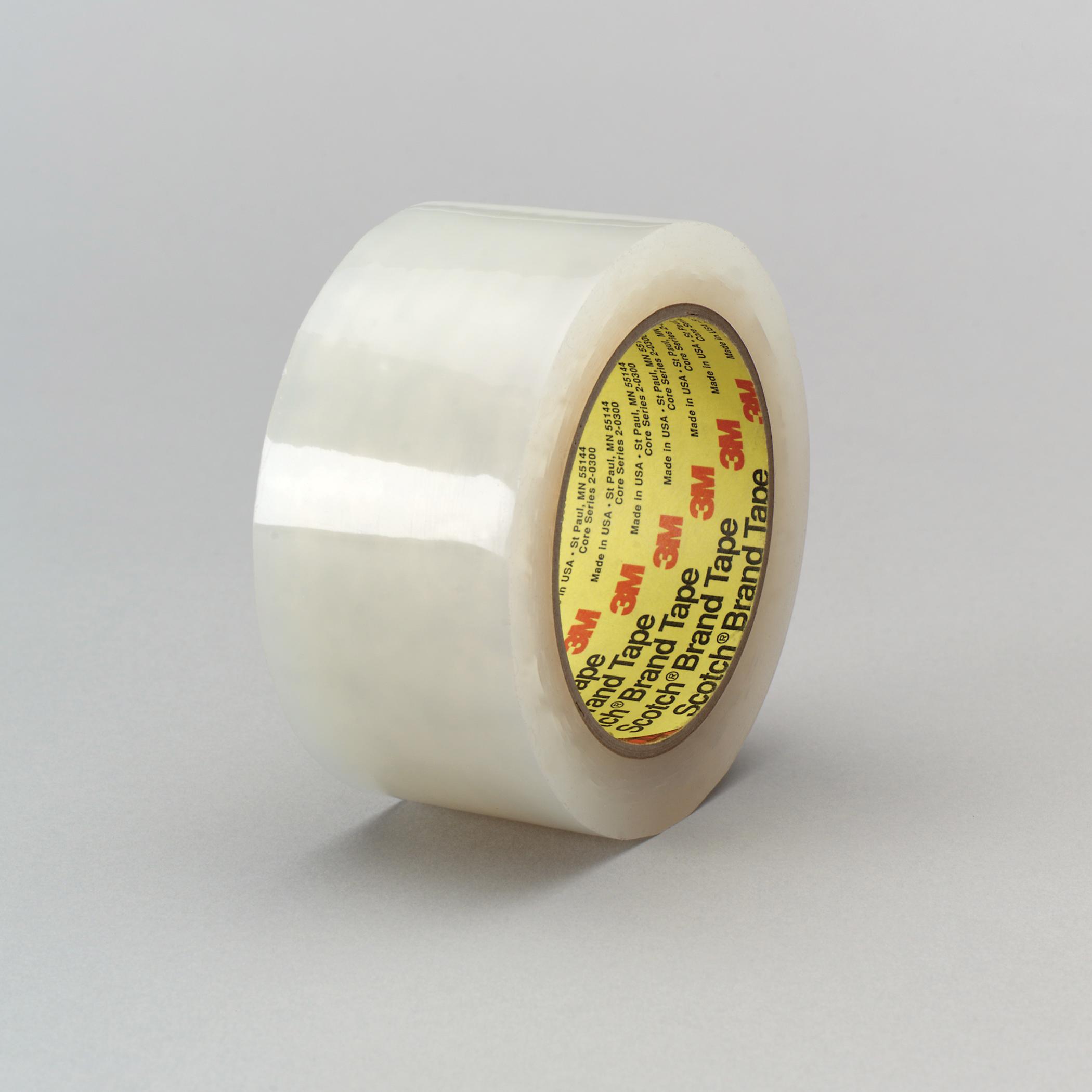 3M™ 021200-05151 Splicing Tape, 36 yd L x 2 in W, 5.1 mil THK, Acrylic Adhesive, Polyethylene Backing, Transparent