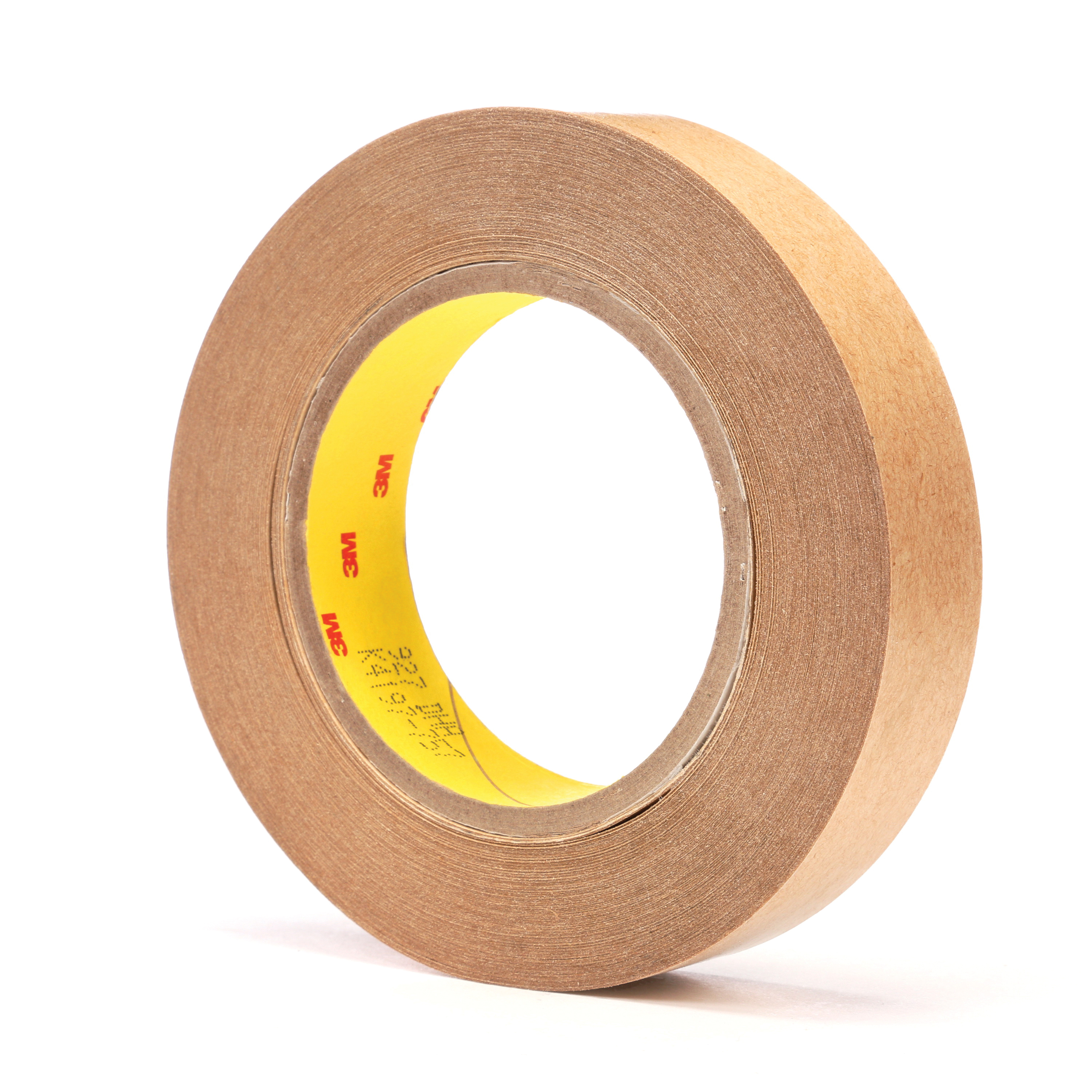 3M™ 021200-05278 High Tack Adhesive Transfer Tape, 60 yd L x 1 in W, 5.5 mil THK, 2 mil 300 Acrylic Adhesive, Clear