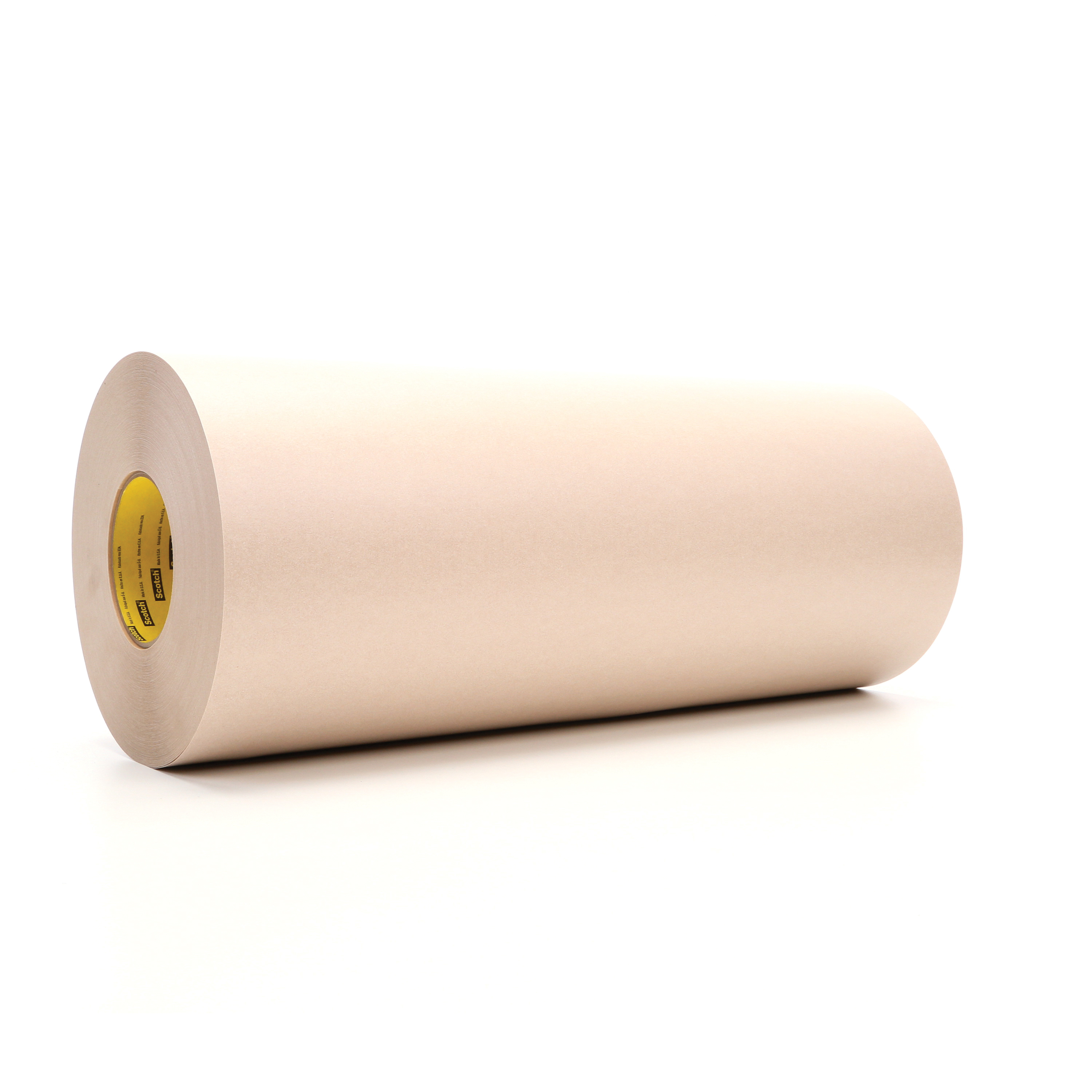3M™ 021200-05419 Heavy Duty Protective Tape, 60 yd L x 18 in W, 16.7 mil THK, Rubber Adhesive, Flat Paper Stock Backing, Tan