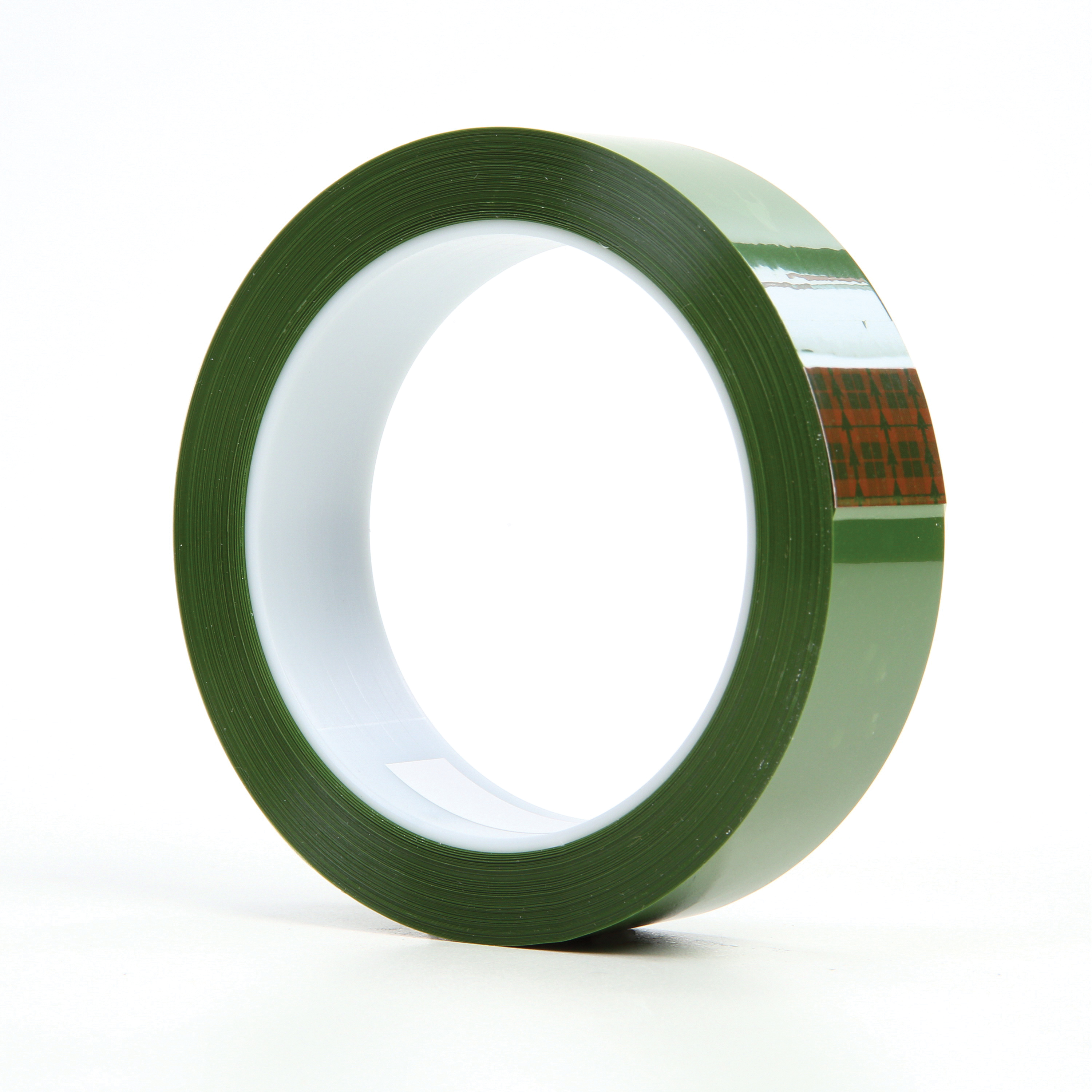 3M™ 021200-05687 Masking Tape, 72 yd L x 1 in W, 1.9 mil THK, Silicon Adhesive, Polyester Backing
