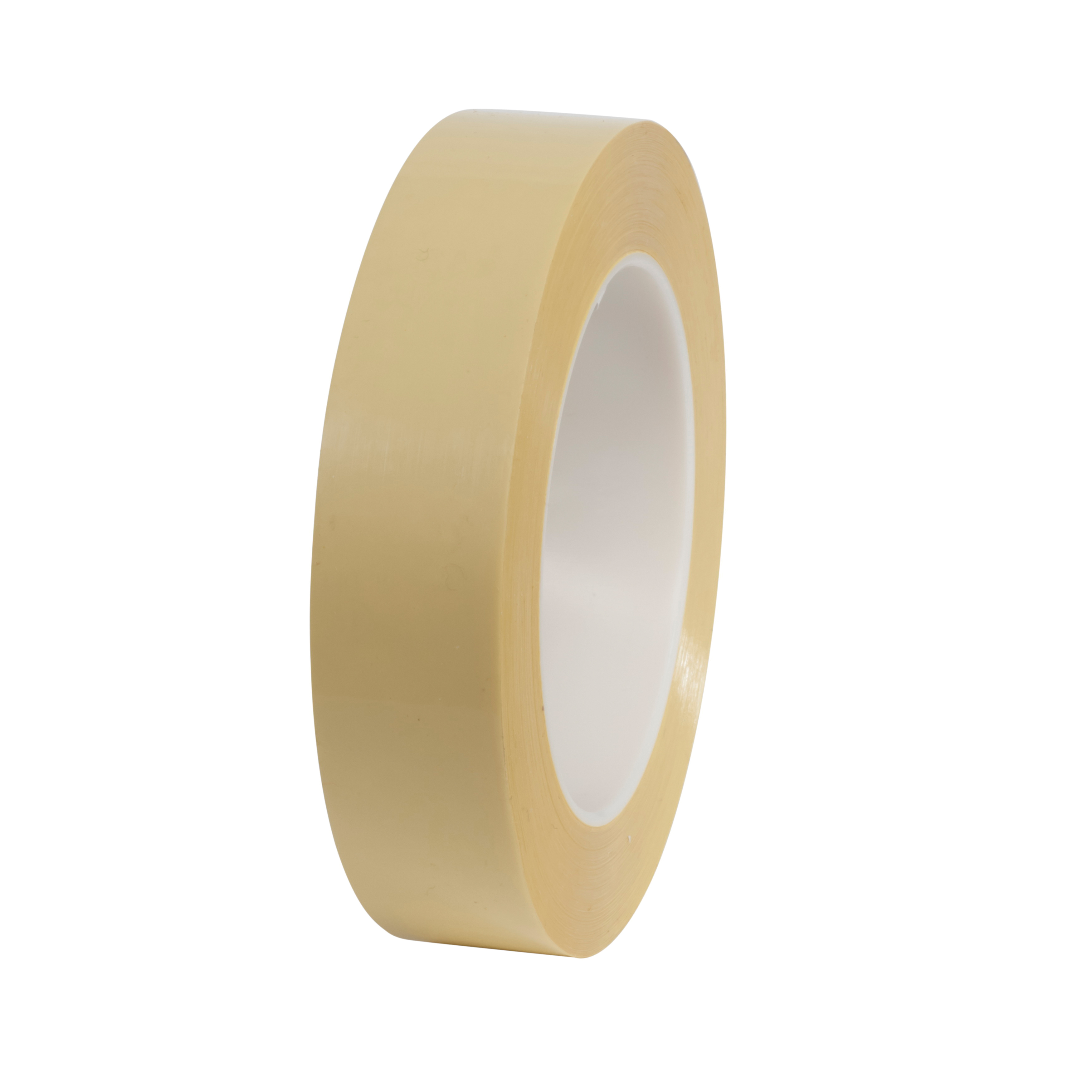 3M™ 021200-05764 Splicing Tape, 72 yd L x 1 in W, 3.2 mil THK, Rubber Adhesive, Polyester Backing, Yellow