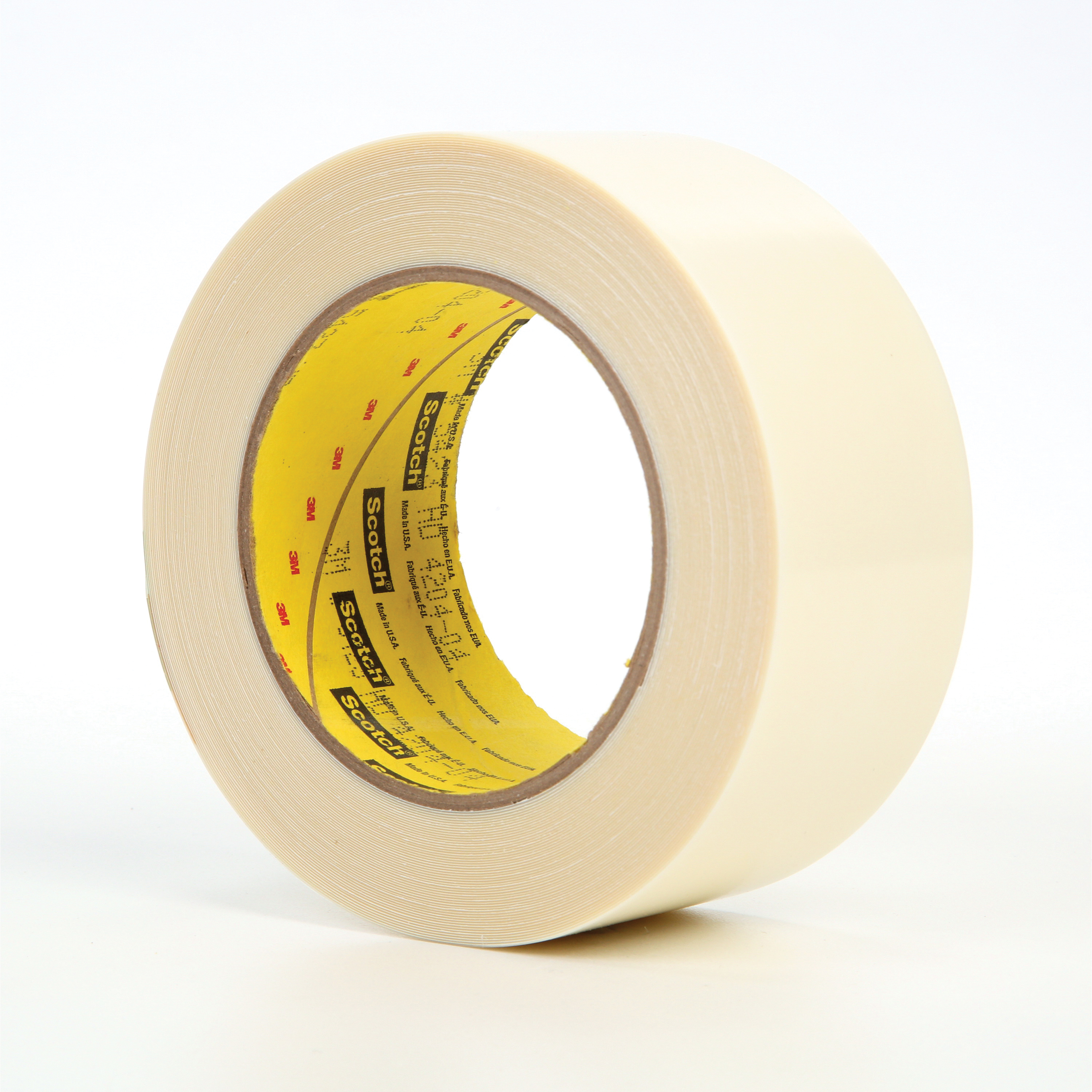 3M™ 021200-07576 Film Tape, 18 yd L x 2 in W, 11.7 mil THK, Rubber Adhesive, 10 mil UHMW Polyethylene Backing, Transparent