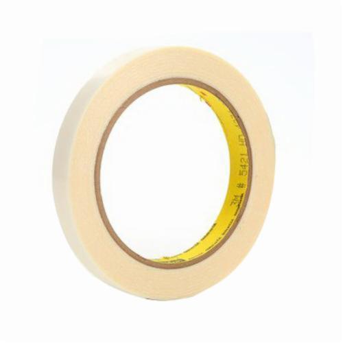 3M™ 021200-11988 General Purpose Film Tape, 18 yd L x 1-1/2 in W, 6.7 mil THK, Rubber Adhesive, 5 mil UHMW Polyethylene Backing, Transparent