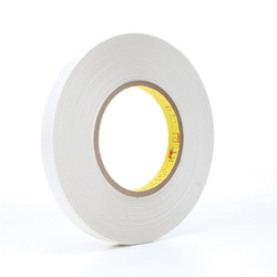 3M™ 021200-14536 9415PC Removable Repositionable Tape, 72 yd L x 1/2 in W, 7.6 mil THK, 0.5 mil 400 Acrylic Adhesive, 1 mil Polyester Film Backing, Clear