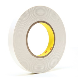 3M™ 021200-14537 9415PC Removable Repositionable Tape, 72 yd L x 3/4 in W, 7.6 mil THK, 0.5 mil 400 Acrylic Adhesive, 1 mil Polyester Film Backing, Clear