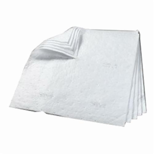 3M™ 021200-16049 Sorbent Pad, 19 in L x 17 in W x 3/8 in THK, 43.5 gal Absorption, Polypropylene