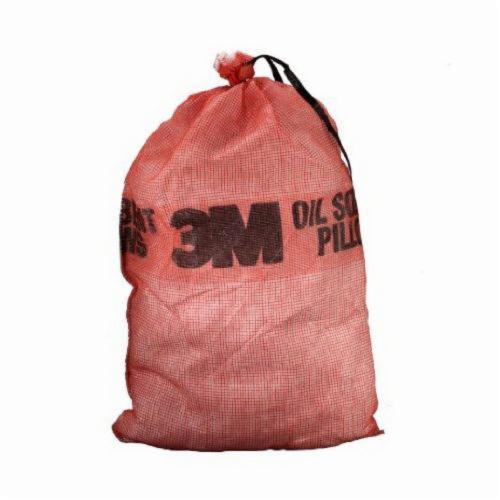 3M™ 021200-16053 Sorbent Pillow, 25 in L x 14 in W x 5 in THK, 3.5 gal Absorption, Polypropylene/Polyester/Synthetic Fiber